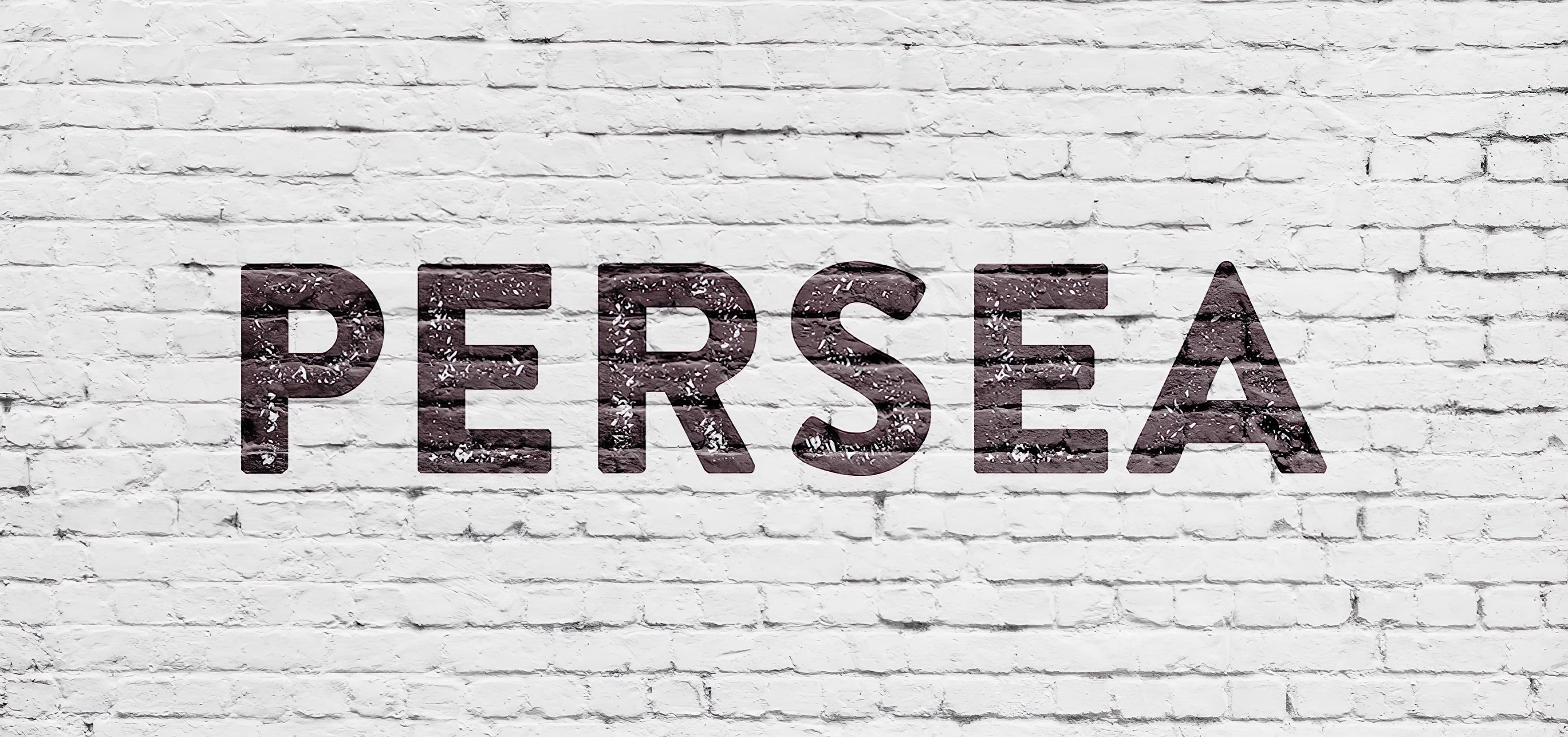 Persea, a mixed-use retail and residential development in Vista, California. Branding and Logo Design.