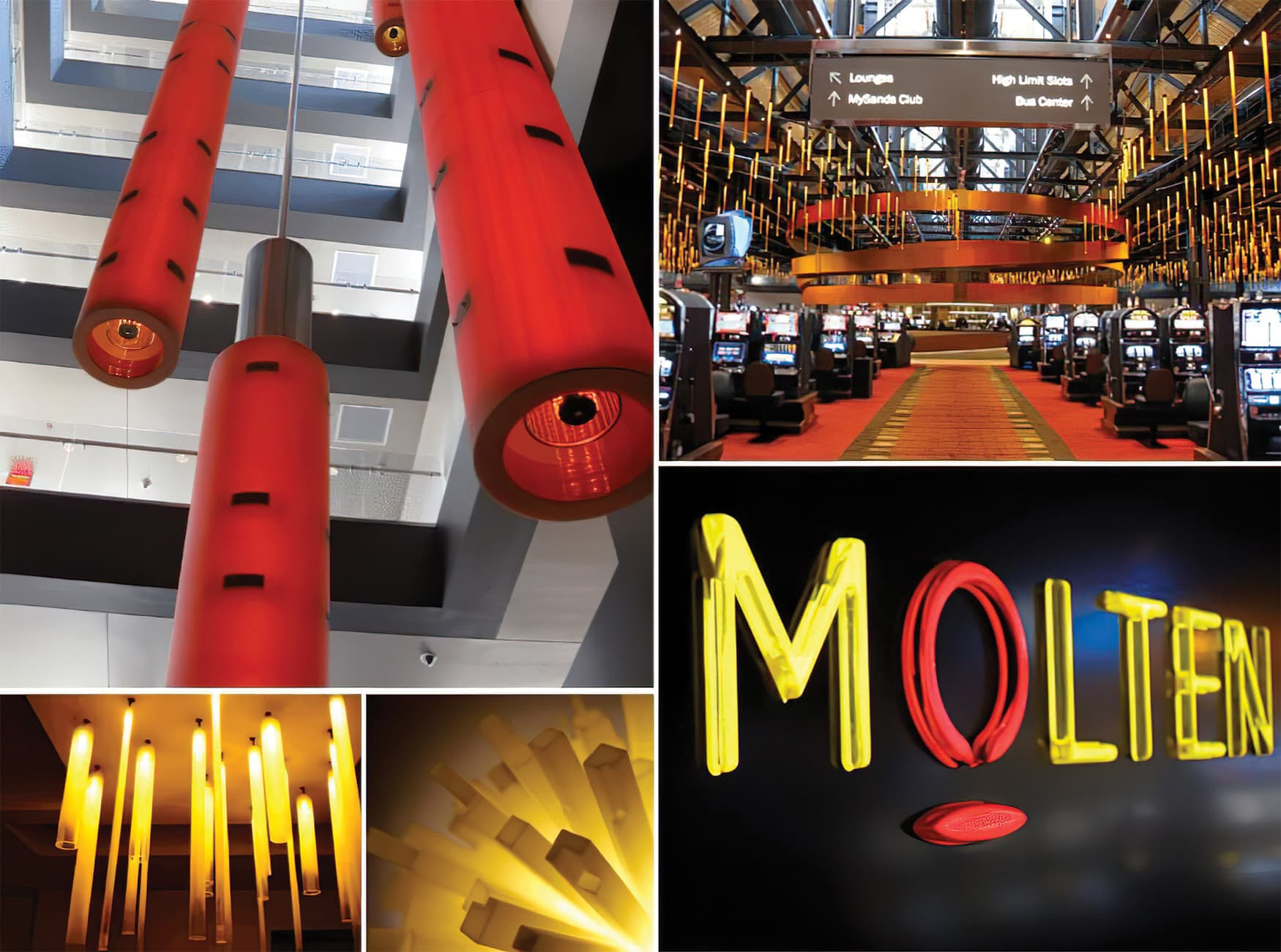 Sands Bethlehem Casino Resort. Environmental Graphics and Wayfinding System Design. Hospitality Design.