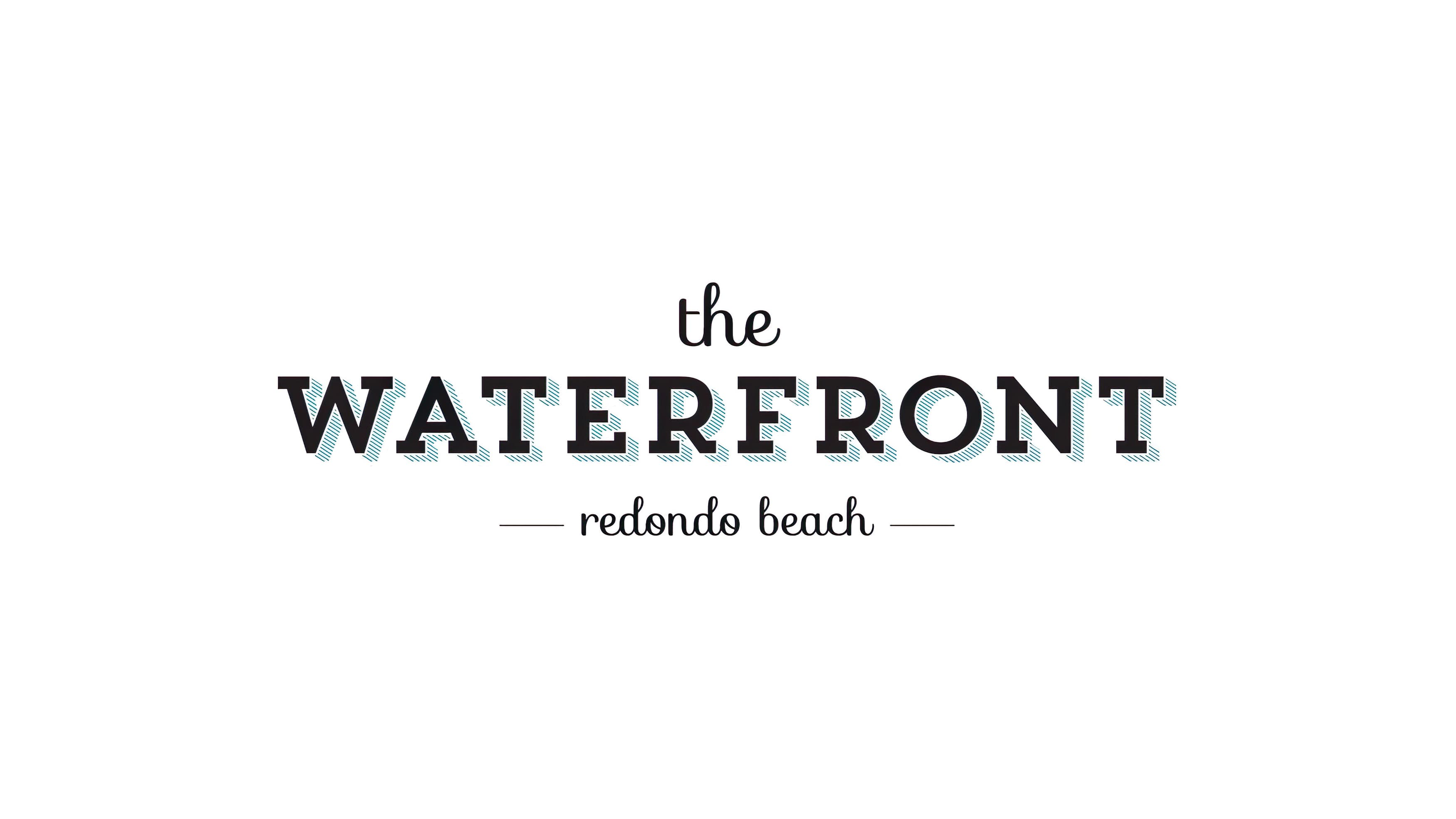Logo design for CenterCal Properties' The Waterfront.