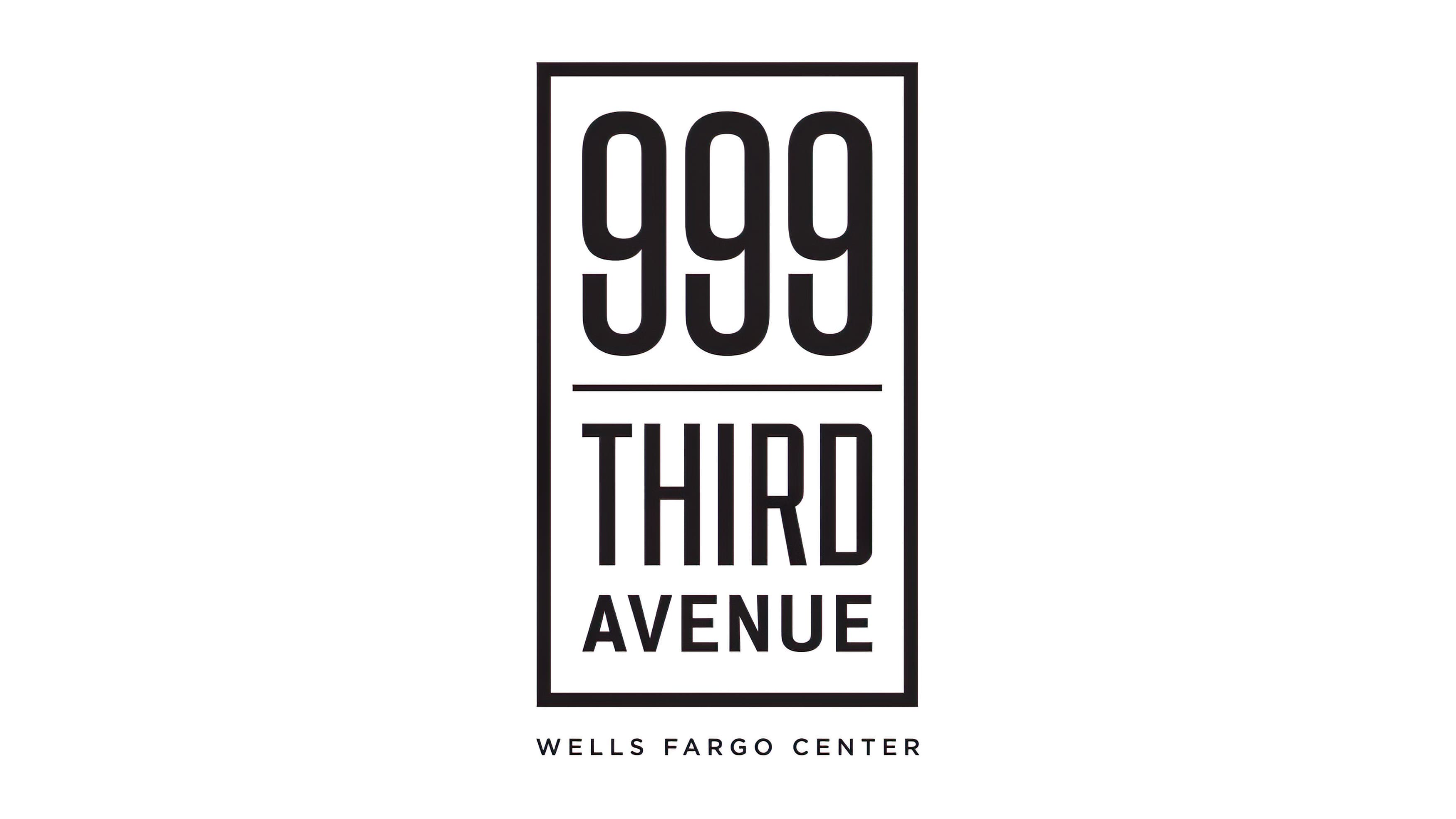 999 Third Avenue Wells Fargo Center logo designed by RSM Design
