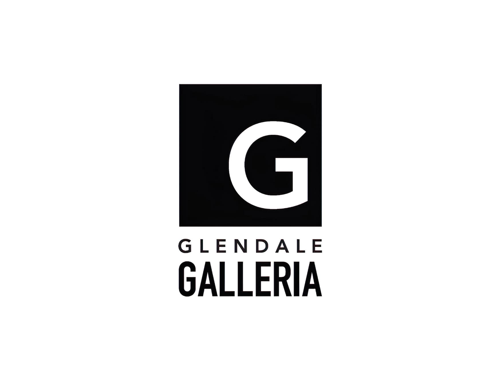 Glendale Galleria. A retail destination in Glendale, California. Project Branding and Logo design.