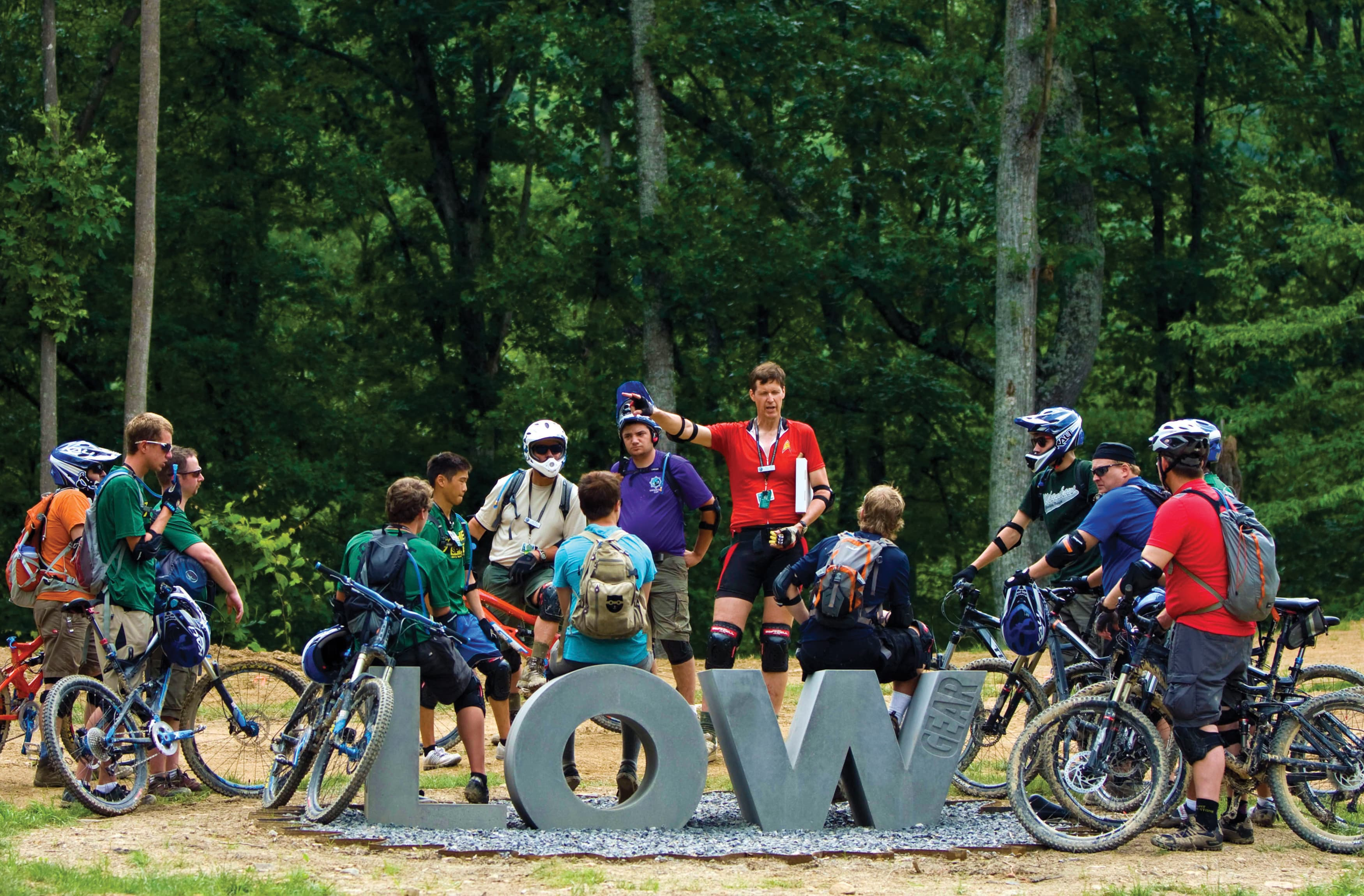 Boy Scouts of America, The Summit Bechtel Reserve - Scouts Gather Around Placemaking Element