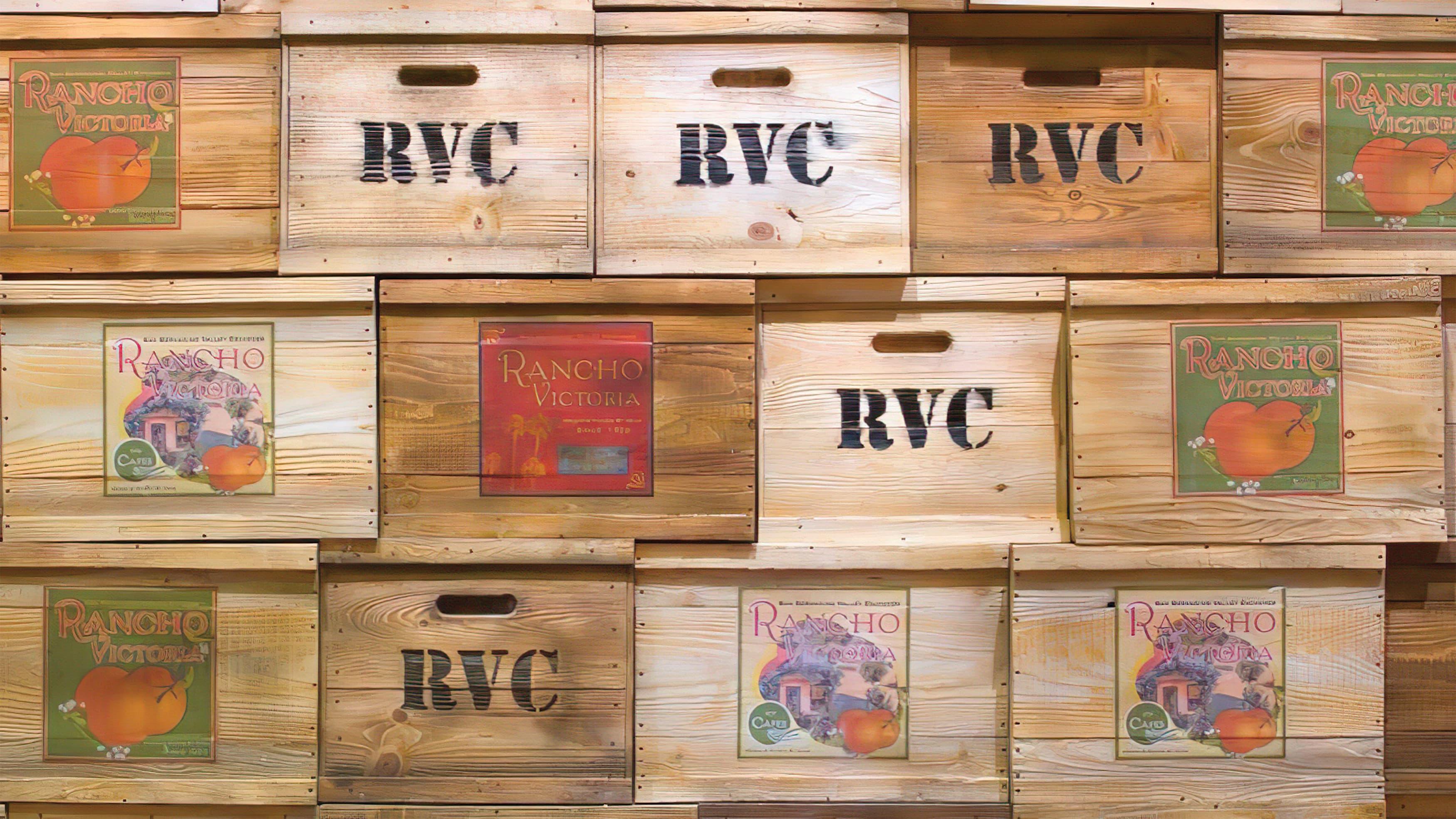 Rancho Victoria Foodhall public art prepared by RSM Design
