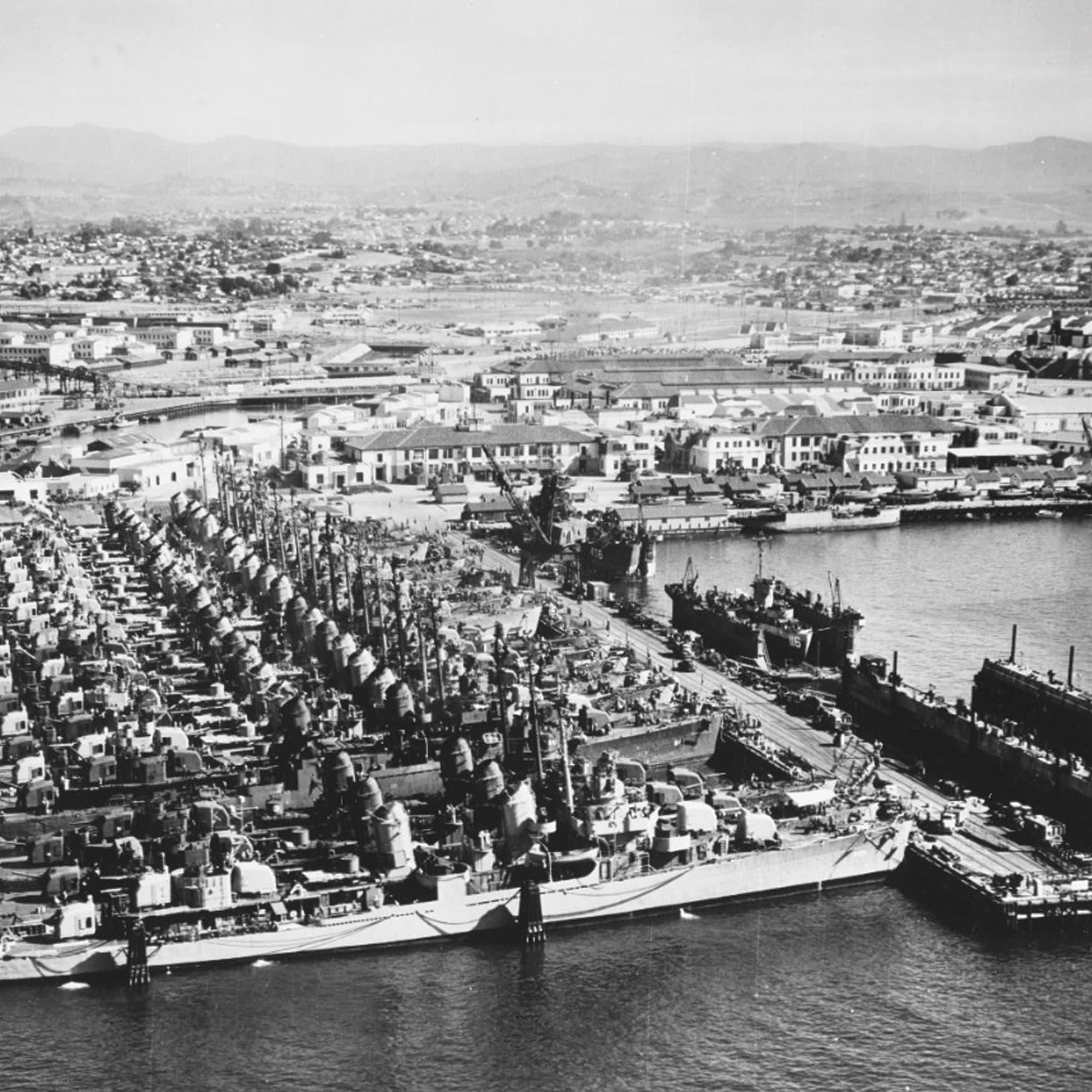 Port of San Diego Historic Photo