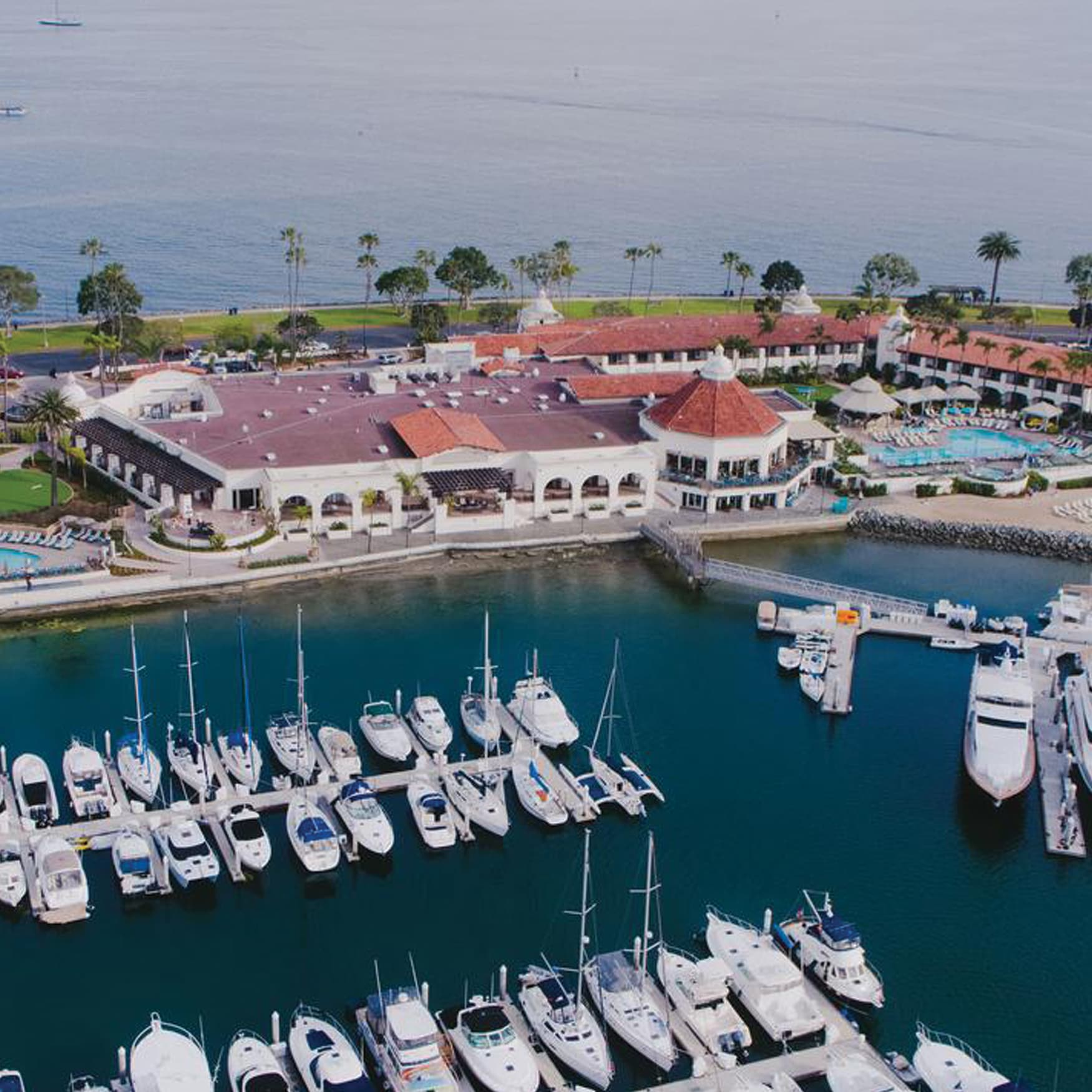 Aerial Photo of Port of San Diego Waterfront Design