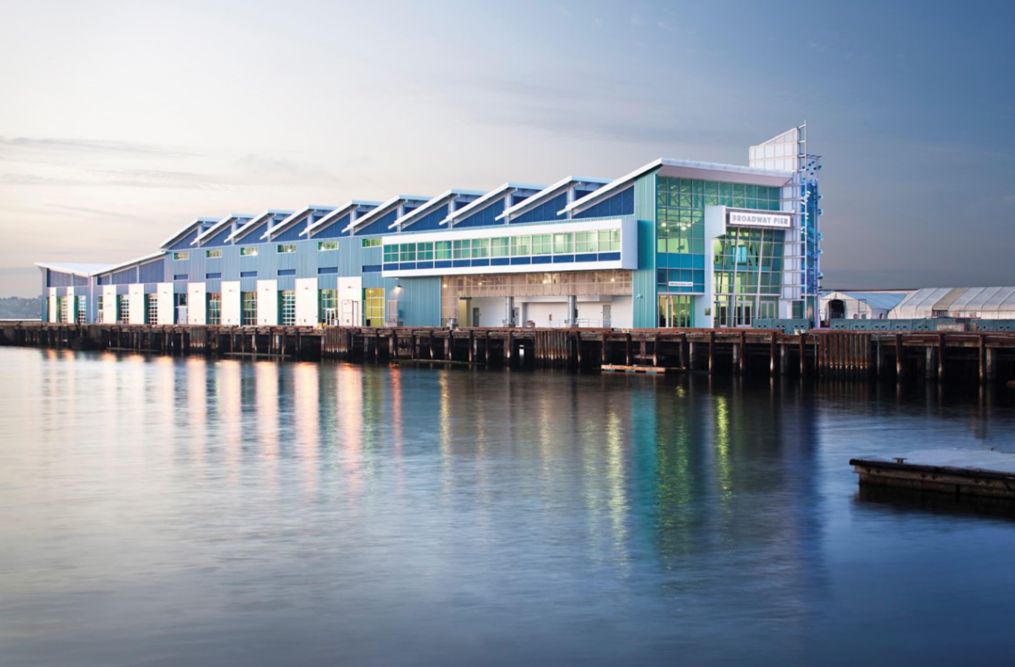 Port of San Diego architectural graphic design