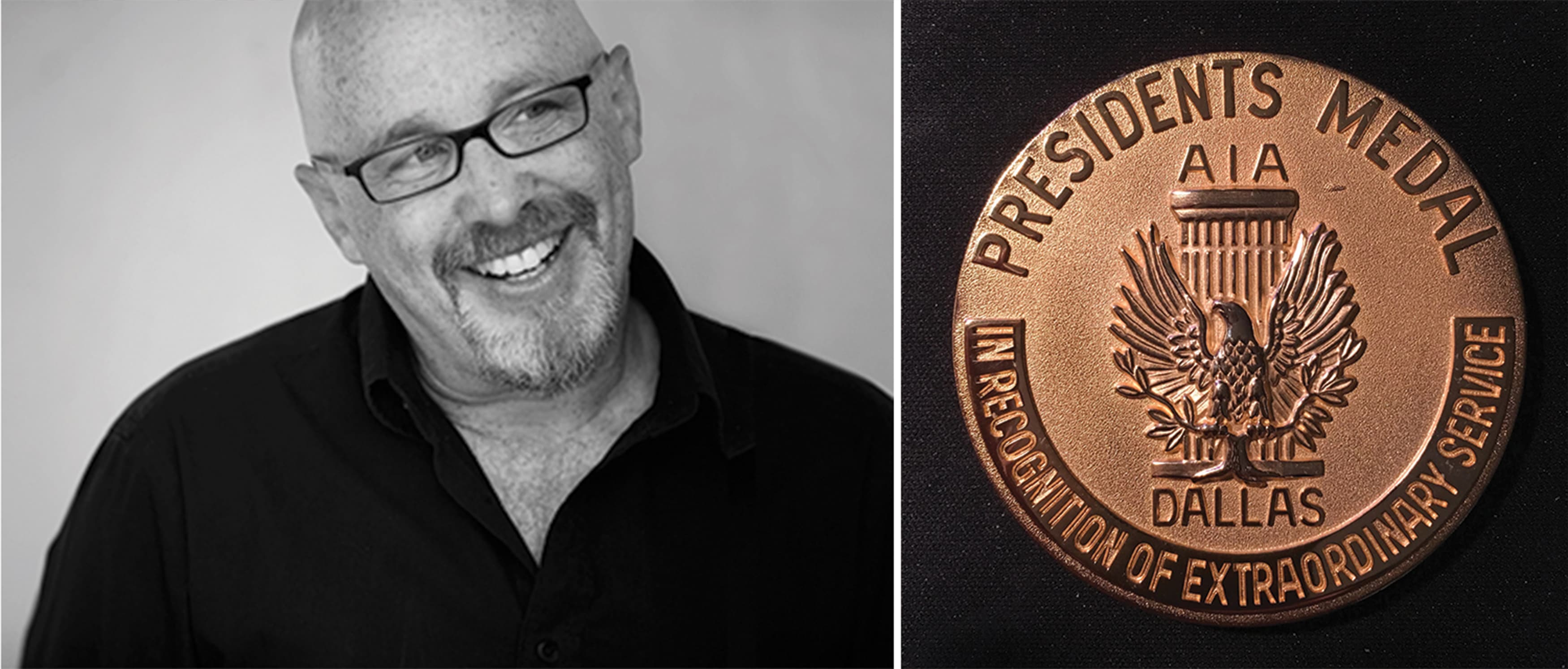 Harry Mark, FAIA, RSM's Executive Director, was recently awarded the AIA President's Medal.