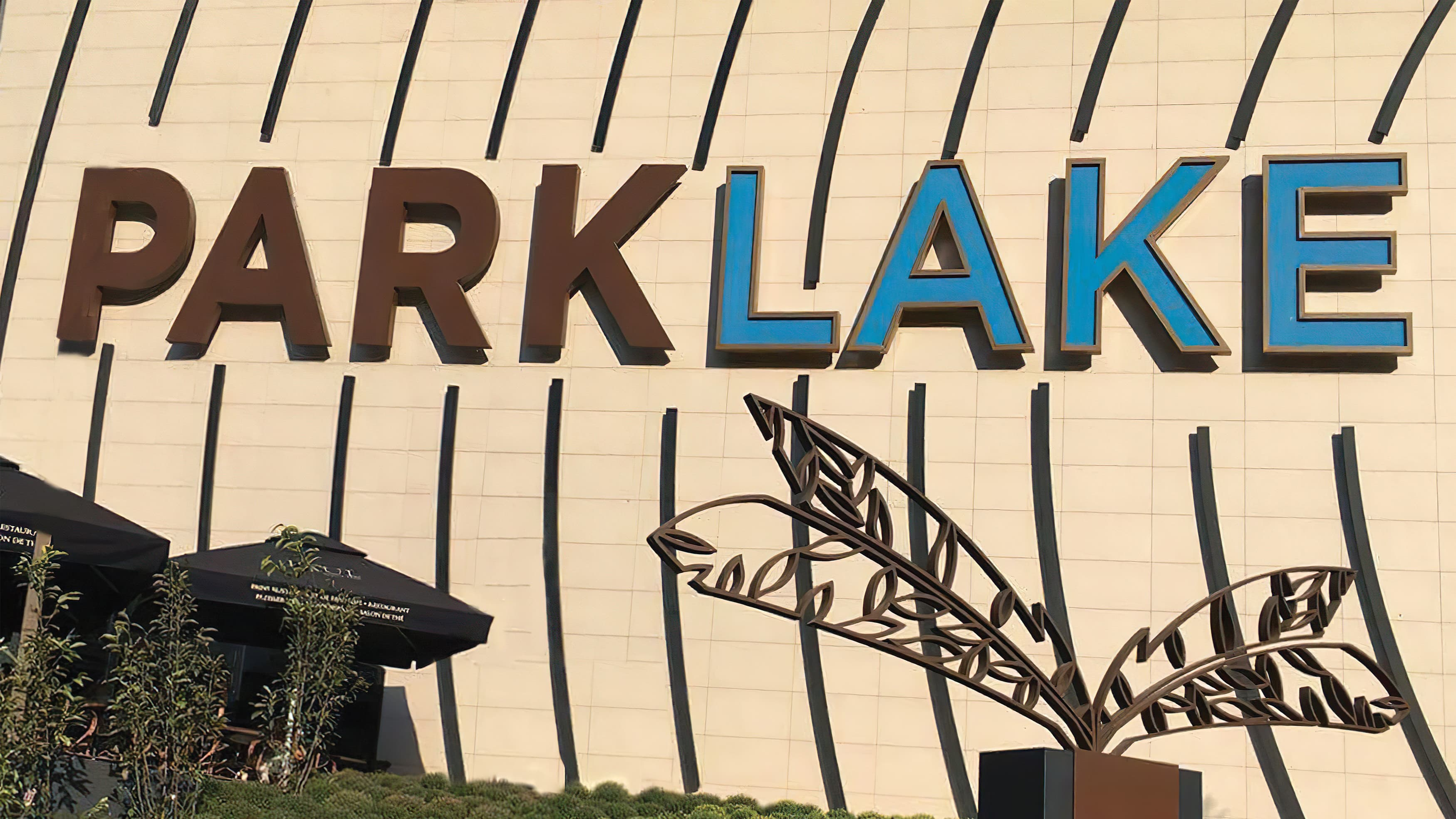 Project identity for the newly opened ParkLake Mall in Bucharest, Romania