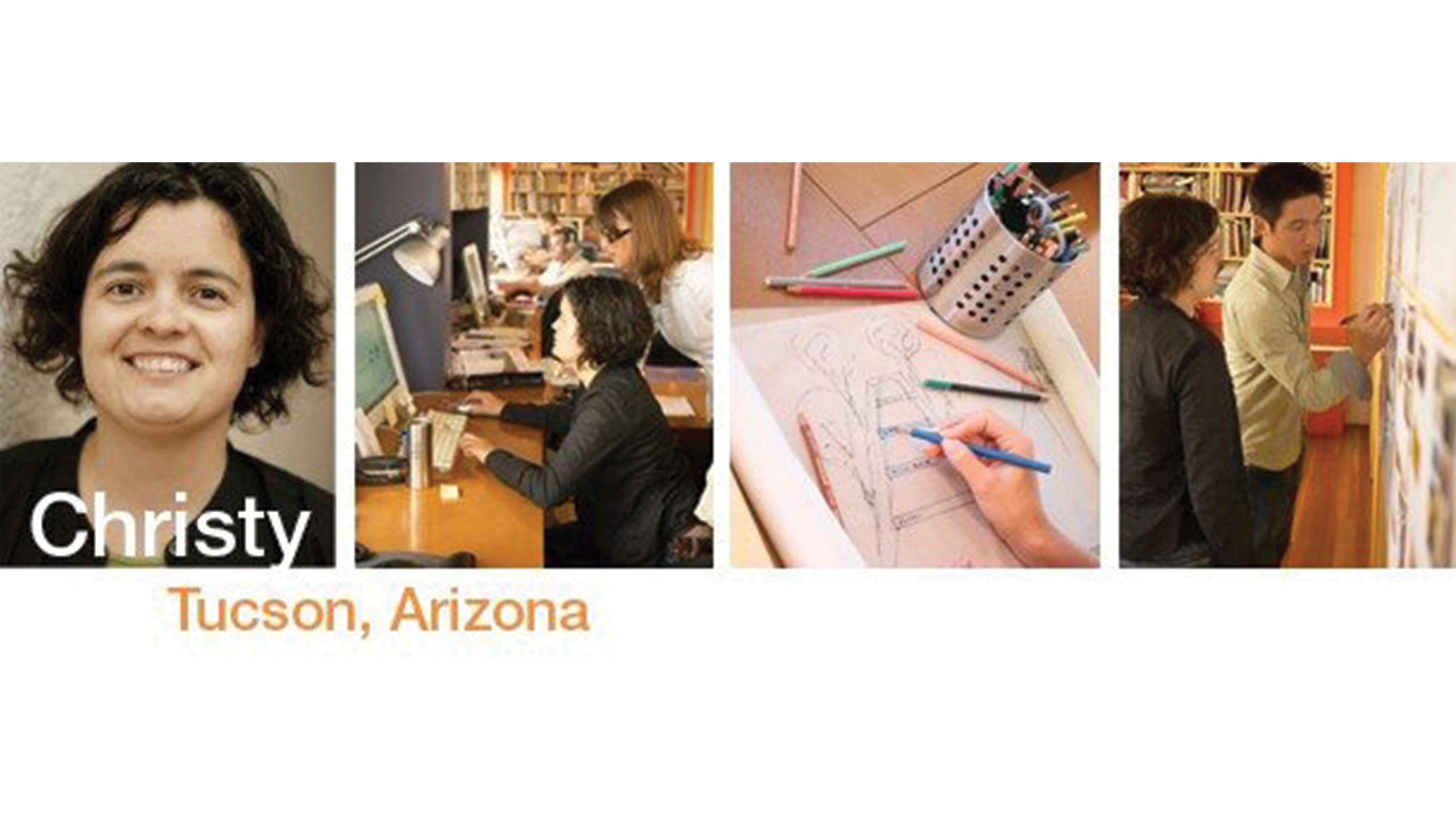 Portrait of Christy Montgomery, who heads the RSM Design office in Tuscon