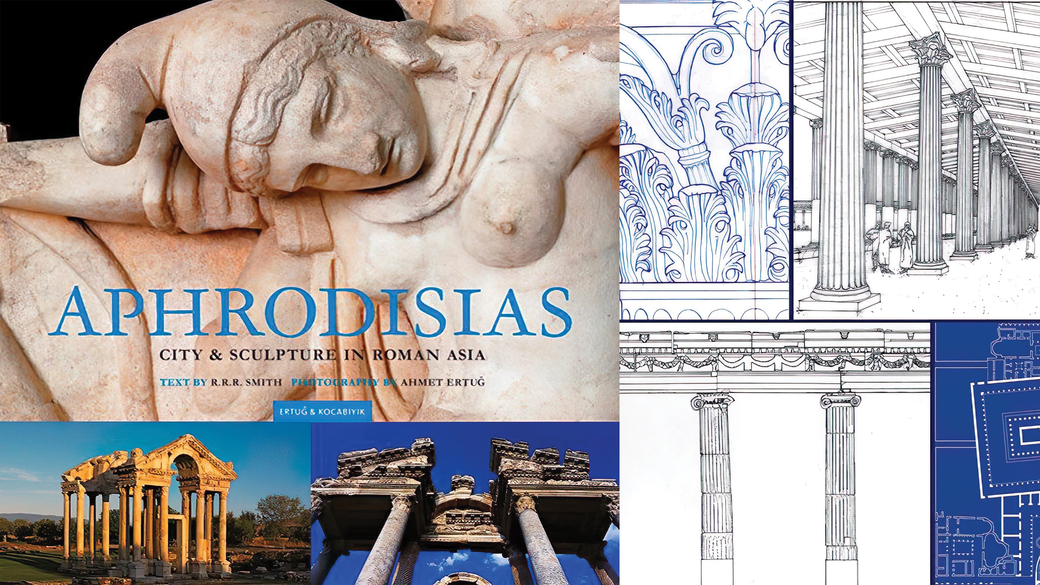 Publication of Aphrodisias in Turkey, in which drawings by Harry Mark were featured