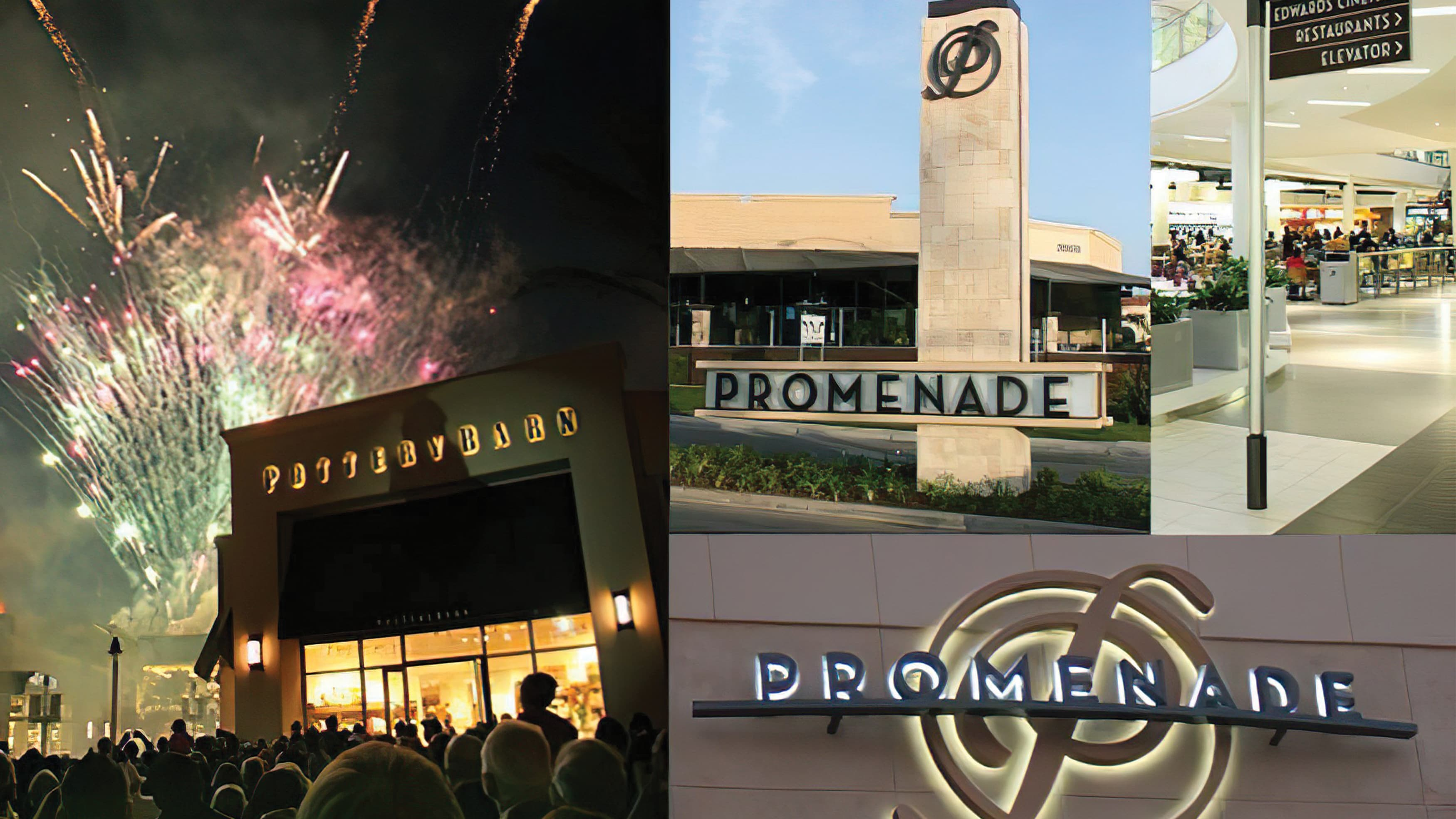Fireworks, bands, and local wineries were part of the gala event and festivities at the grand re-opening of the Promenade Temecula renovation and expansion