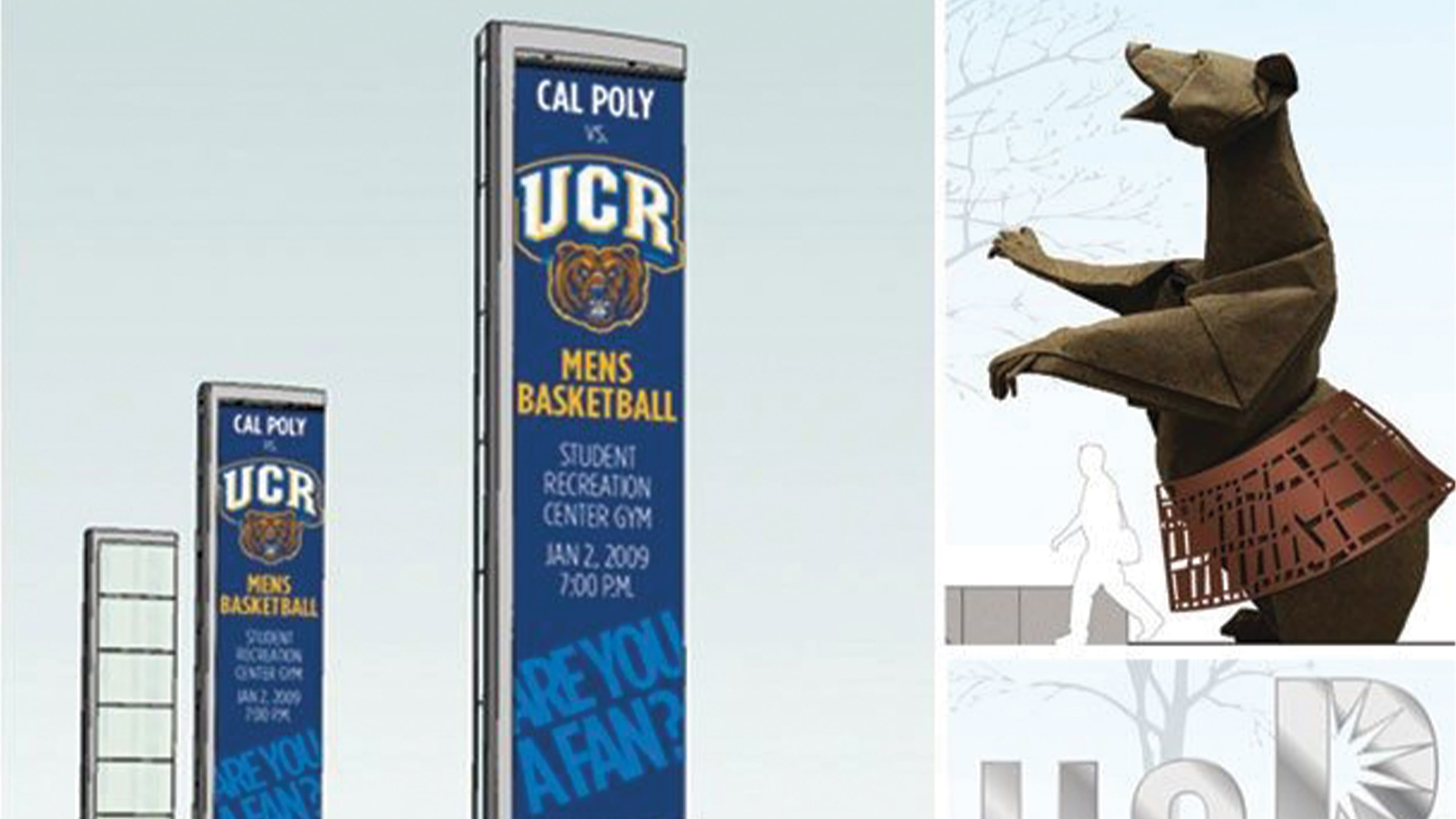Conceptual drawings for UC Riverside prepared by RSM Design