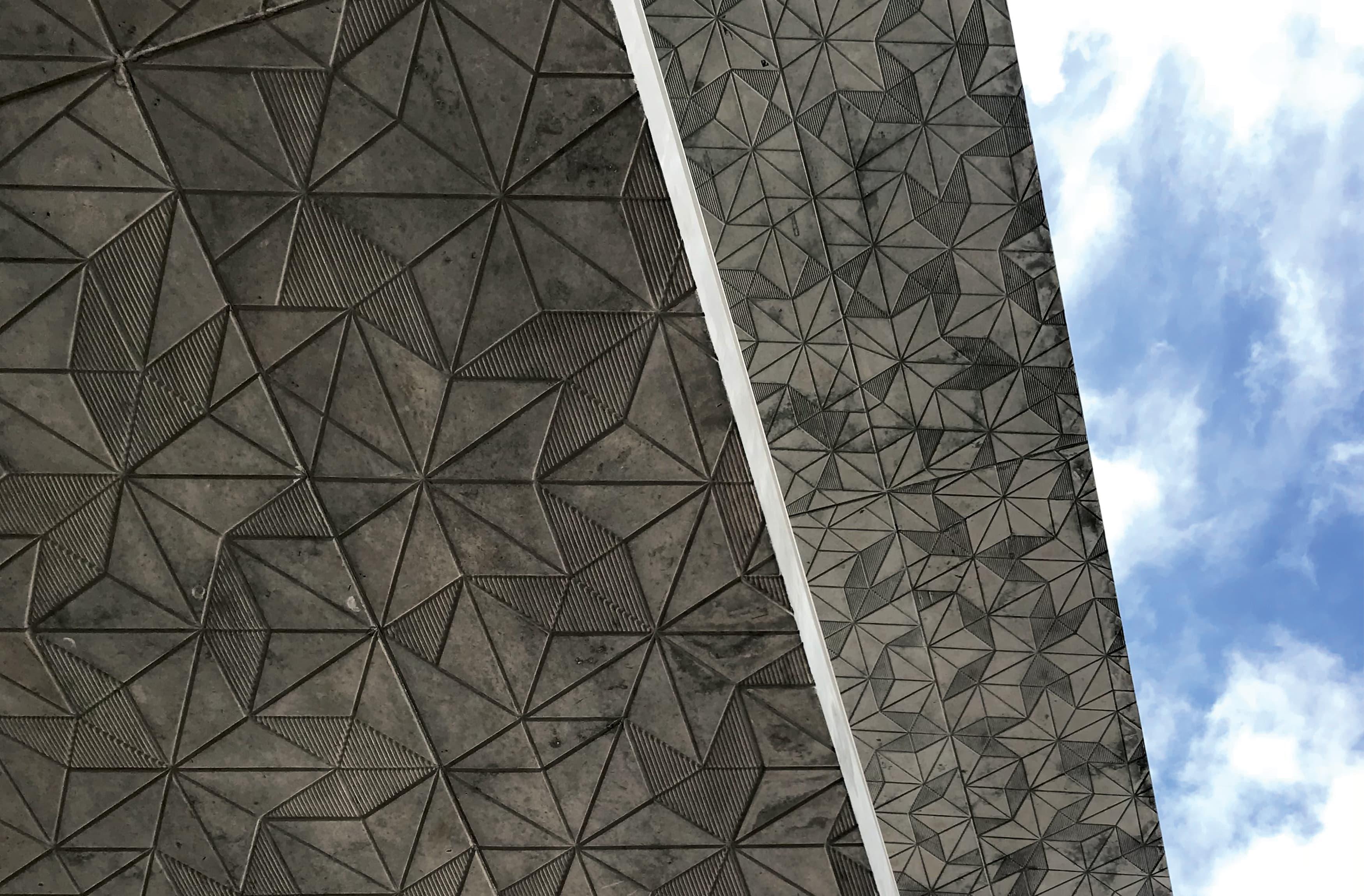 Miami Design District architectural graphic design