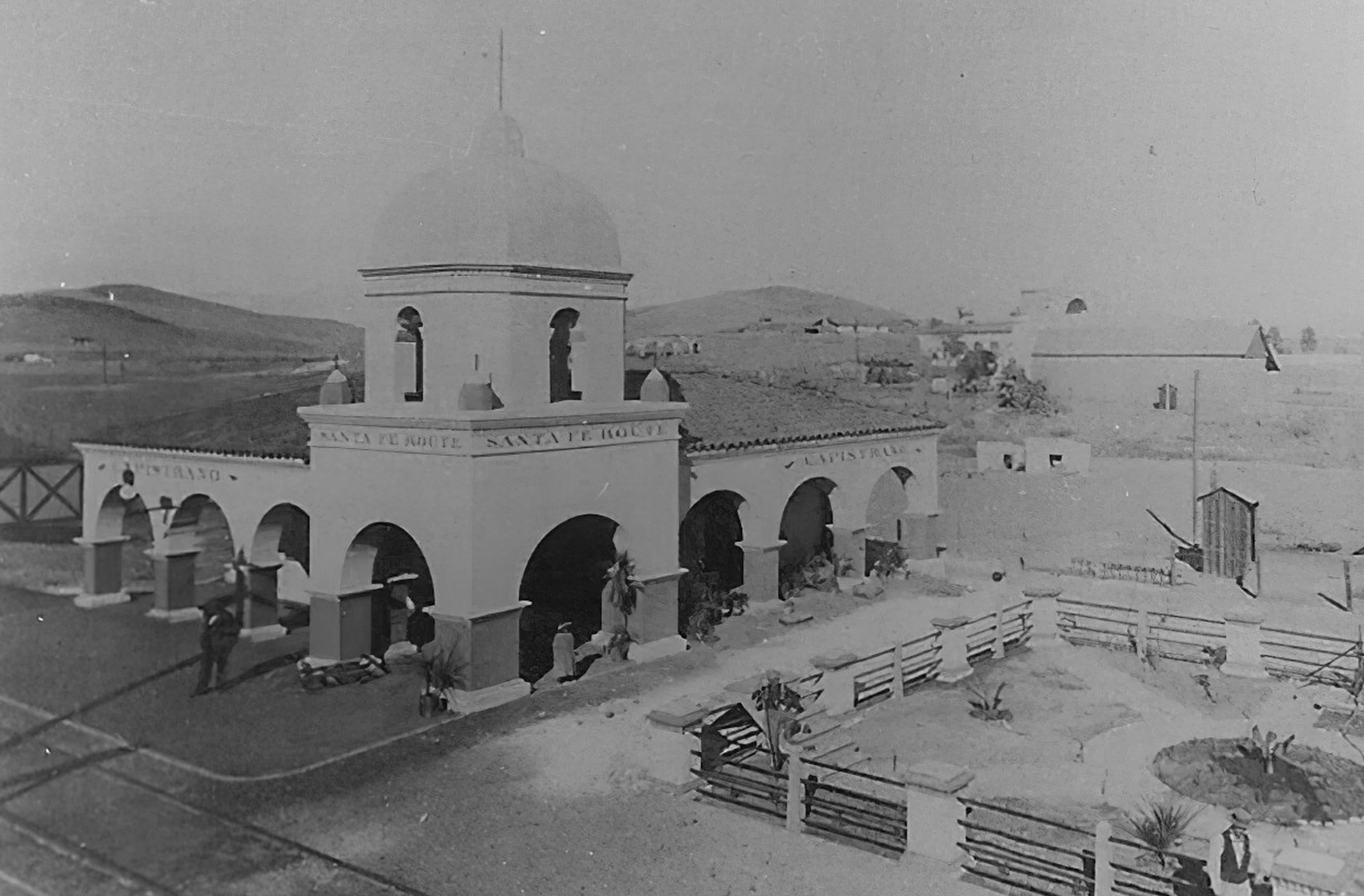 The historic roots of River Street in San Juan Capistrano, California.