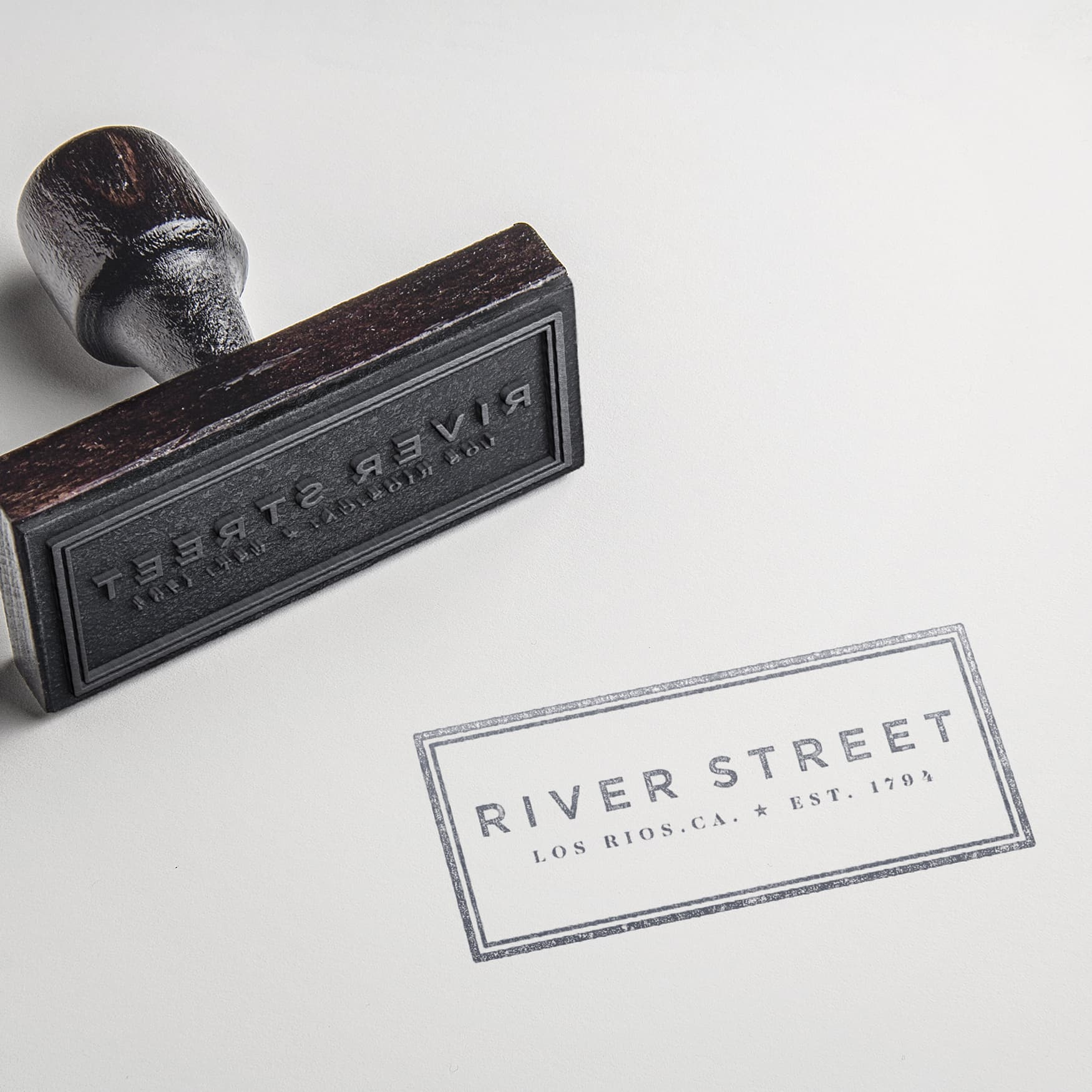 River Streeet, a mixed-use project in the historic and cultural center of San Juan Capistrano, California. Branding collateral