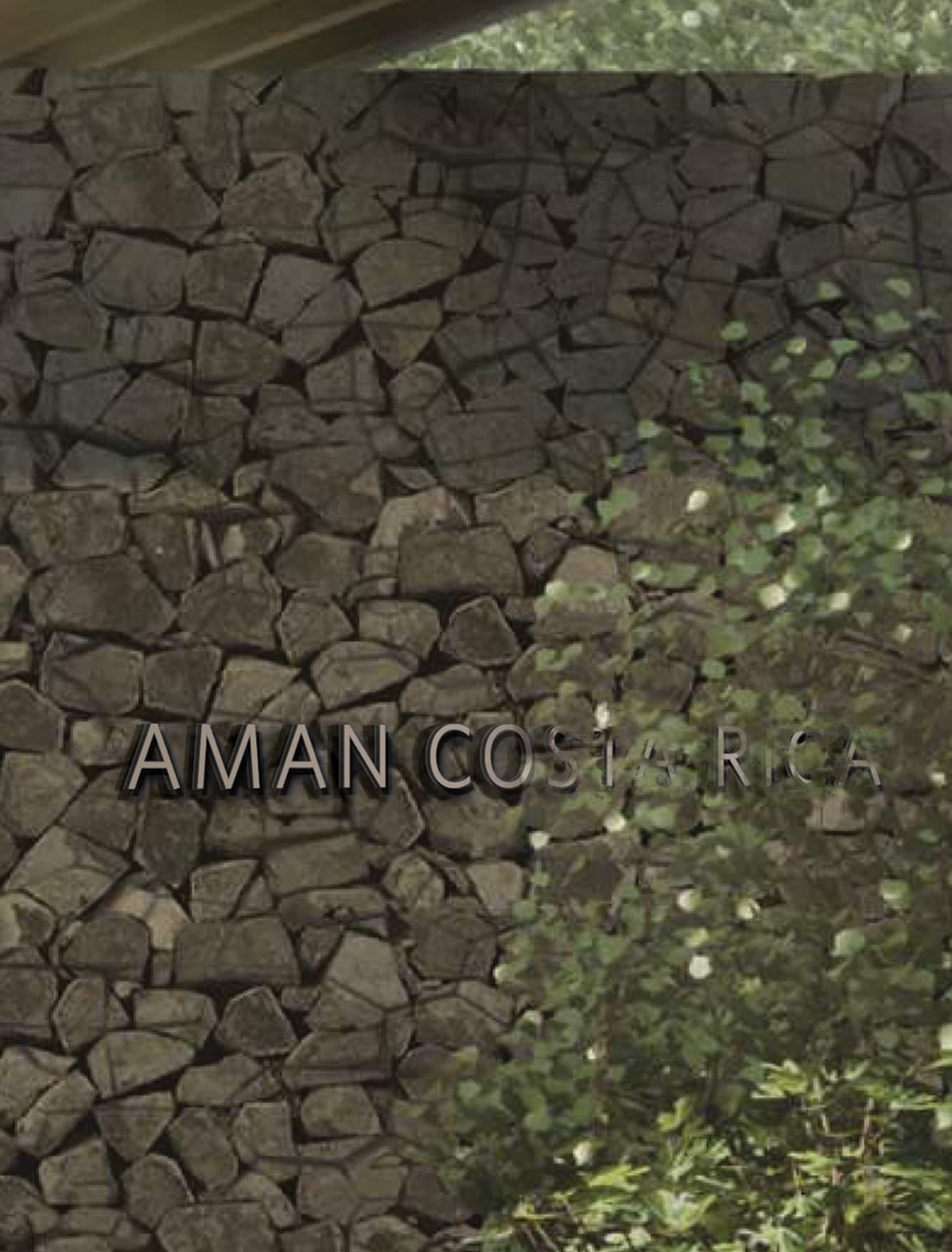 Aman Resort in Costa Rica, Hospitality Design, Entry Gateway Project Identity