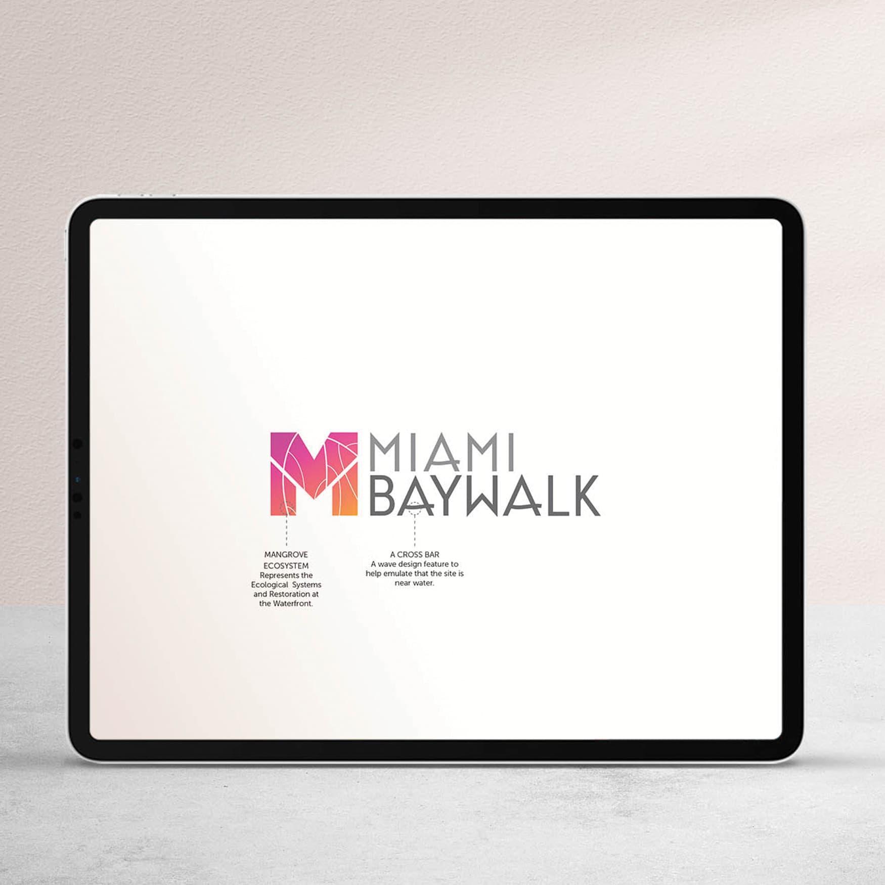 Miami Baywalk Waterfront Design Digital Branding