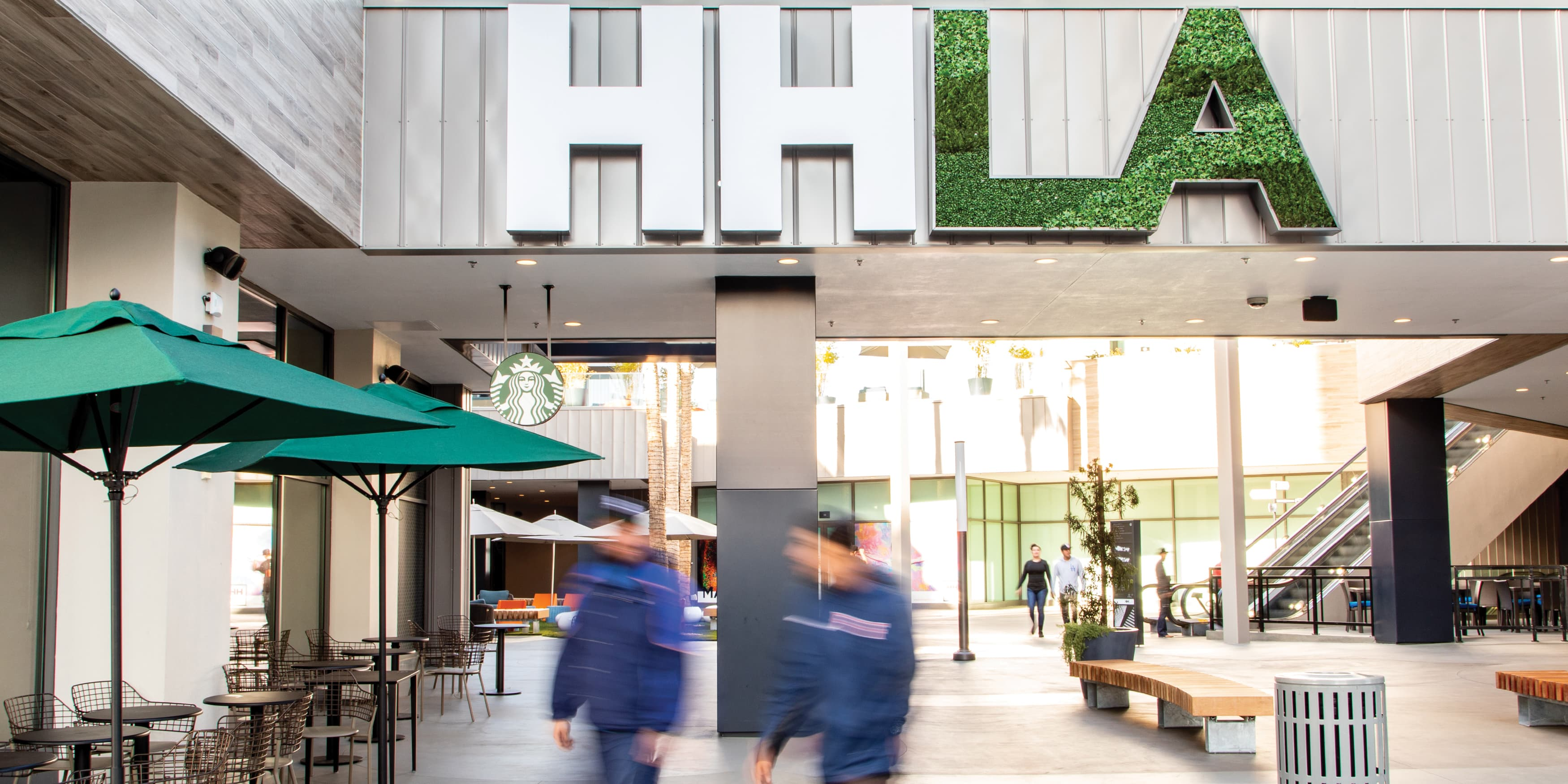 HHLA project identity signage and placemaking
