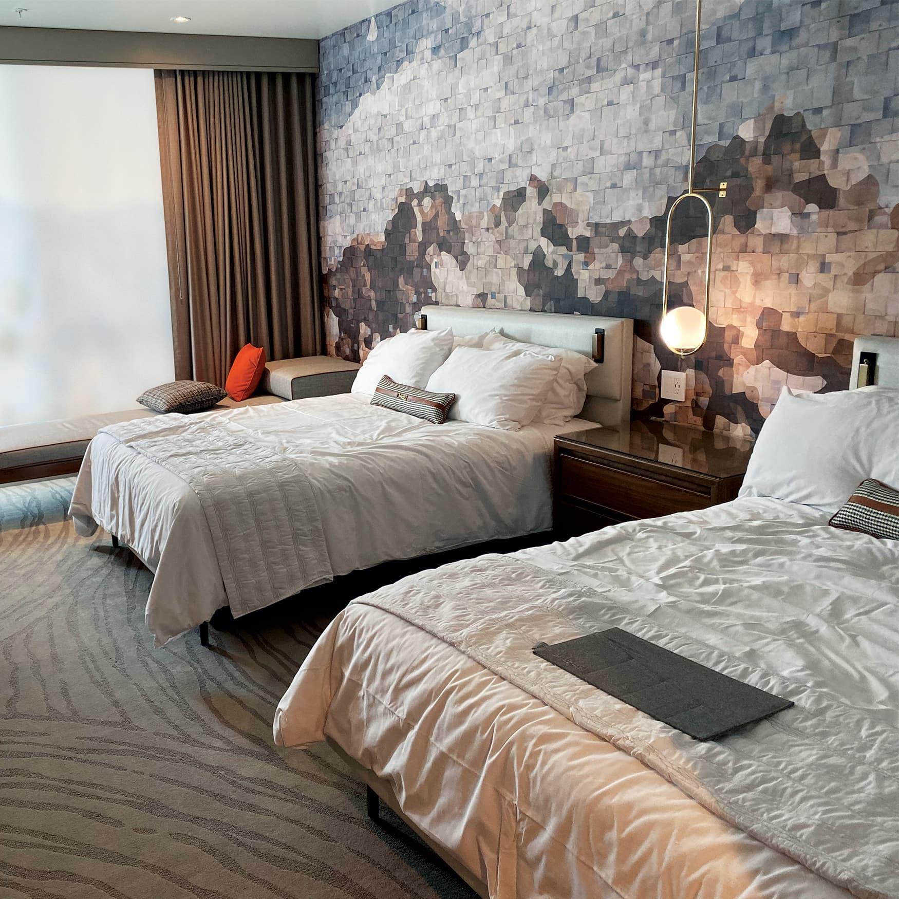 Hospitality Room Design for Le Meridien by RSM Design