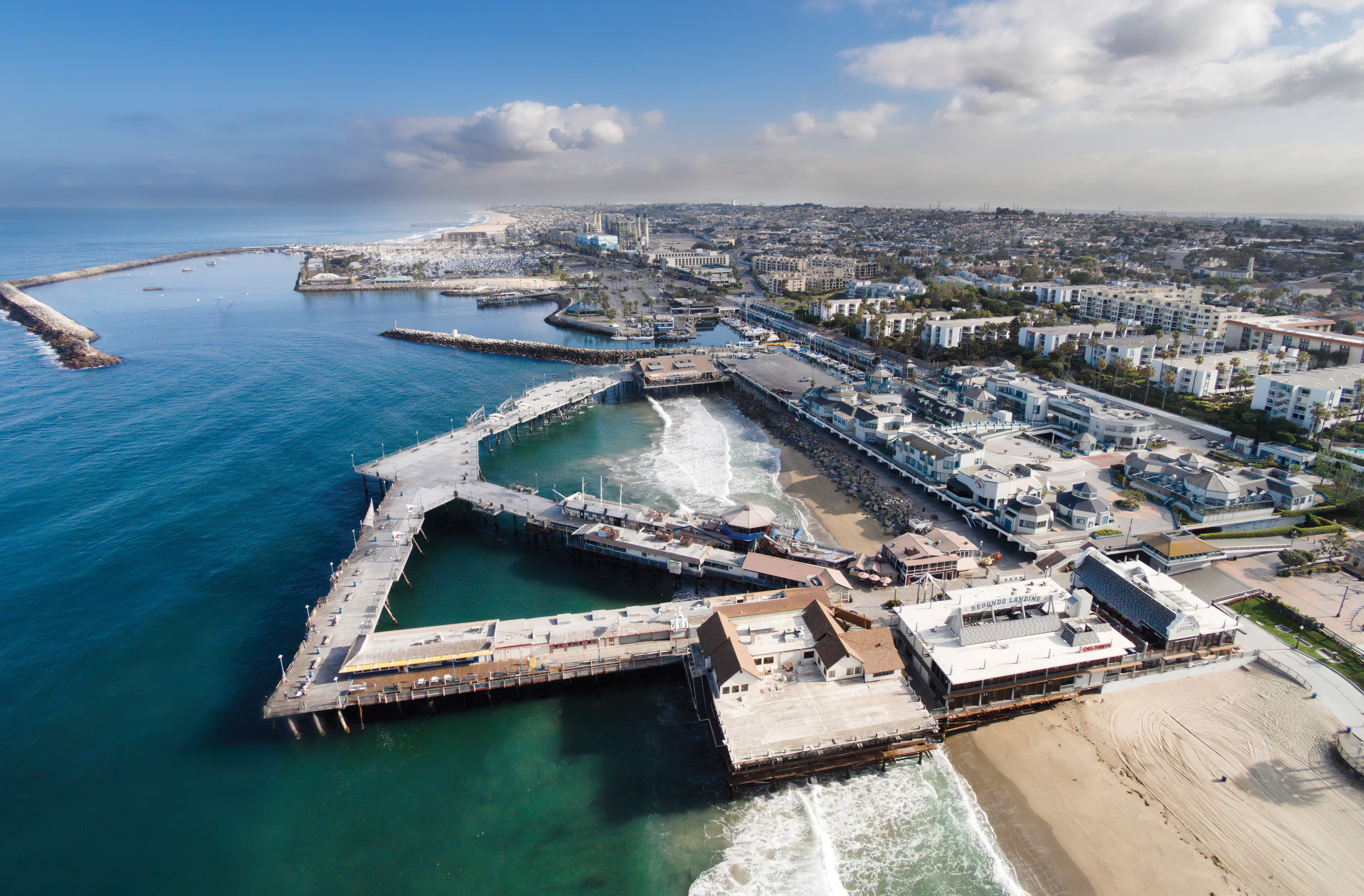 RSM Design worked with CenterCal Properties to develop a brand strategy and voice for The Waterfront, a mixed-use project in Redondo Beach, California.