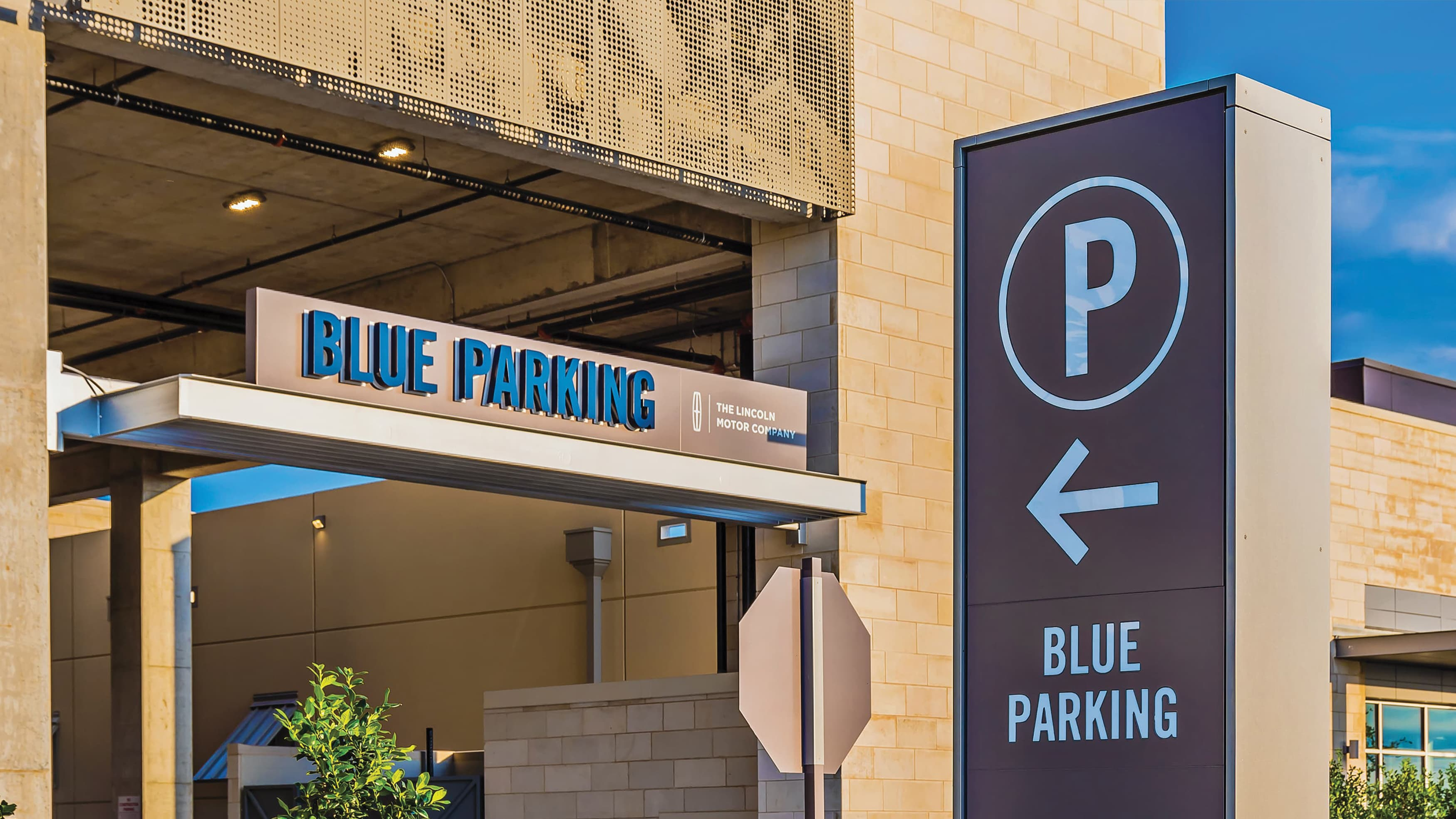Parking wayfinding signage and parking structure naming