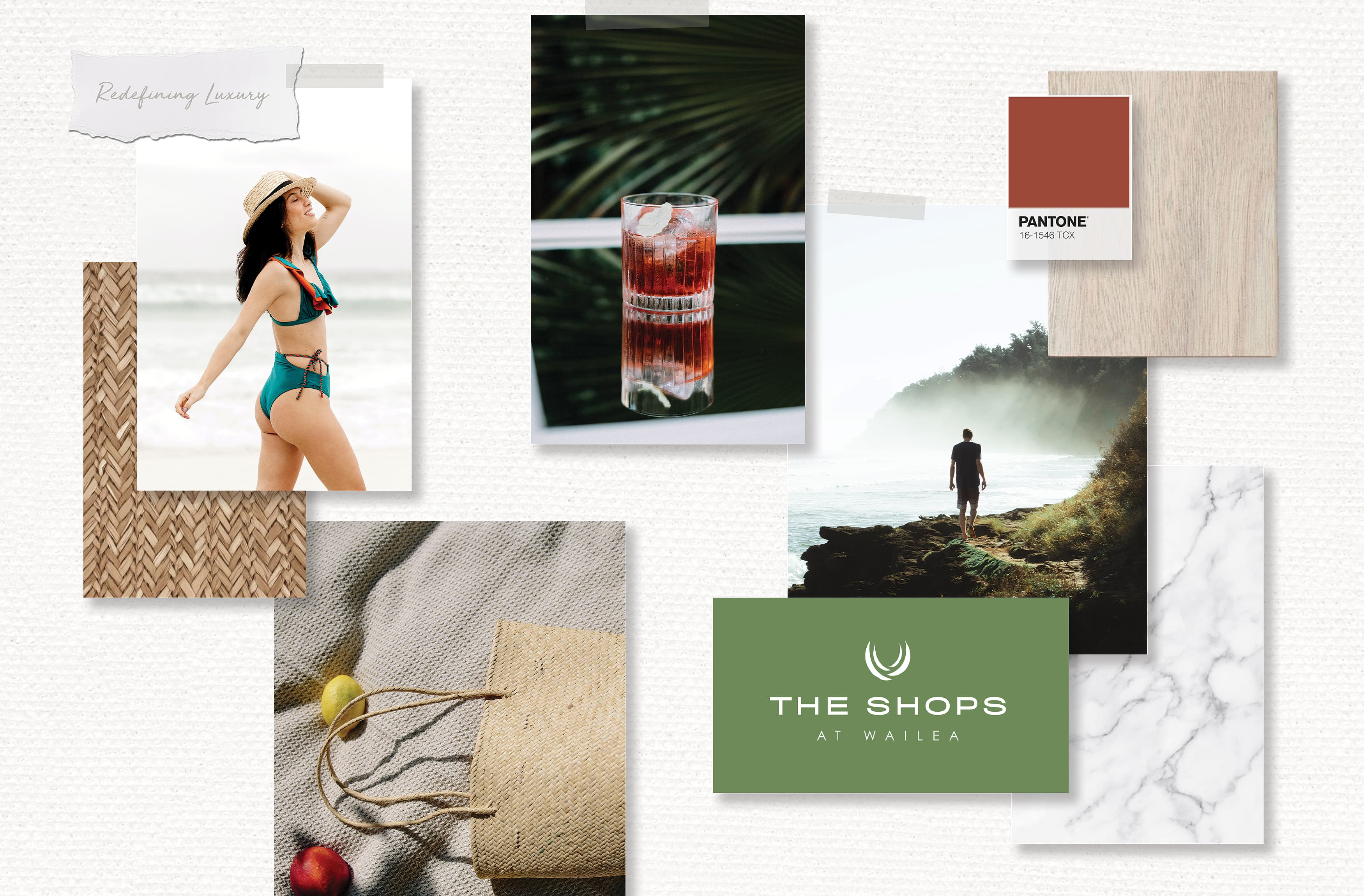 The Shops at Wailea, a premier shopping and dining destination. Branding and Logo Design.
