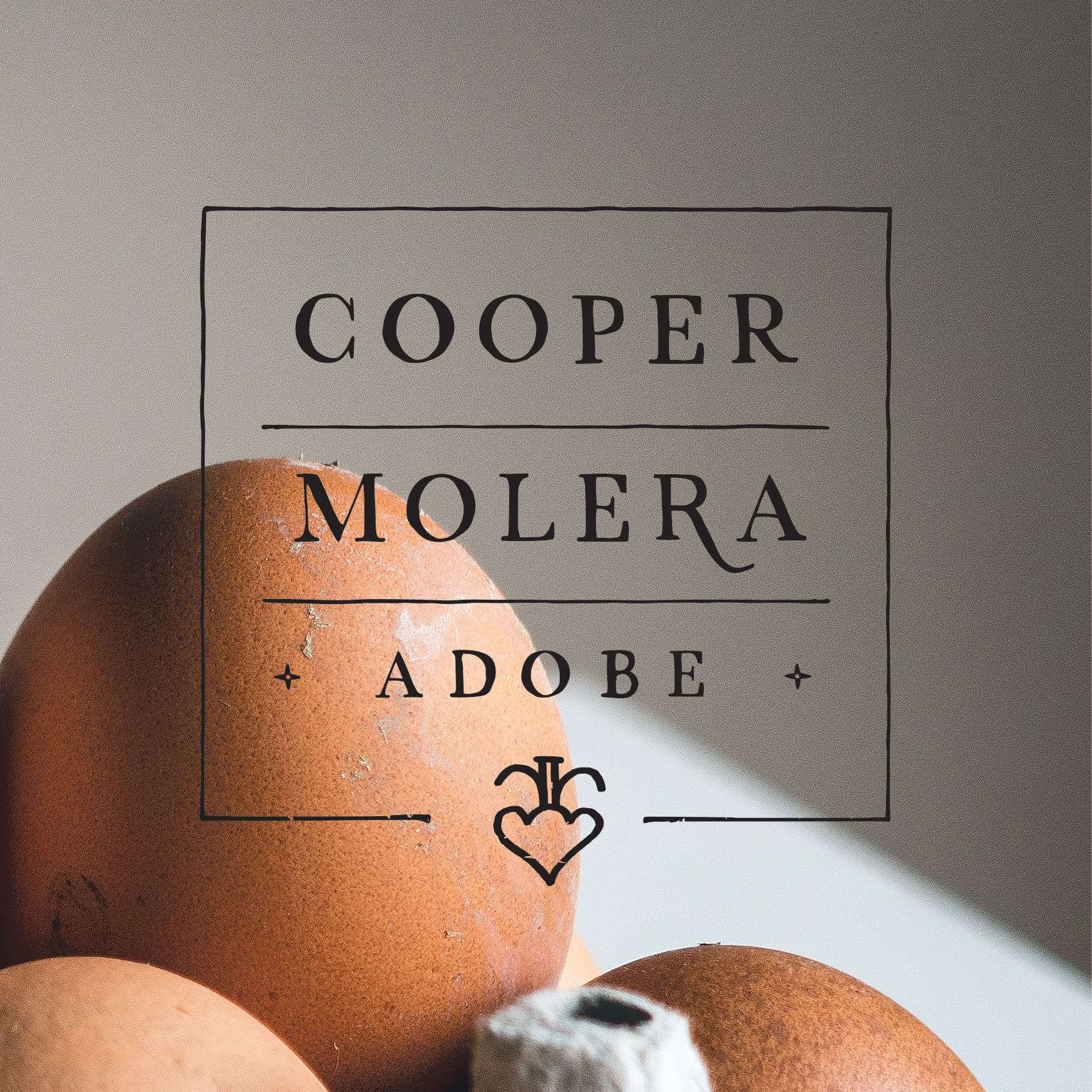 RSM Design branding and logo design services for Cooper Molera Adobe, in Monterey, California,  is a historic property jointly managed with the National Trust for Historic Preservation