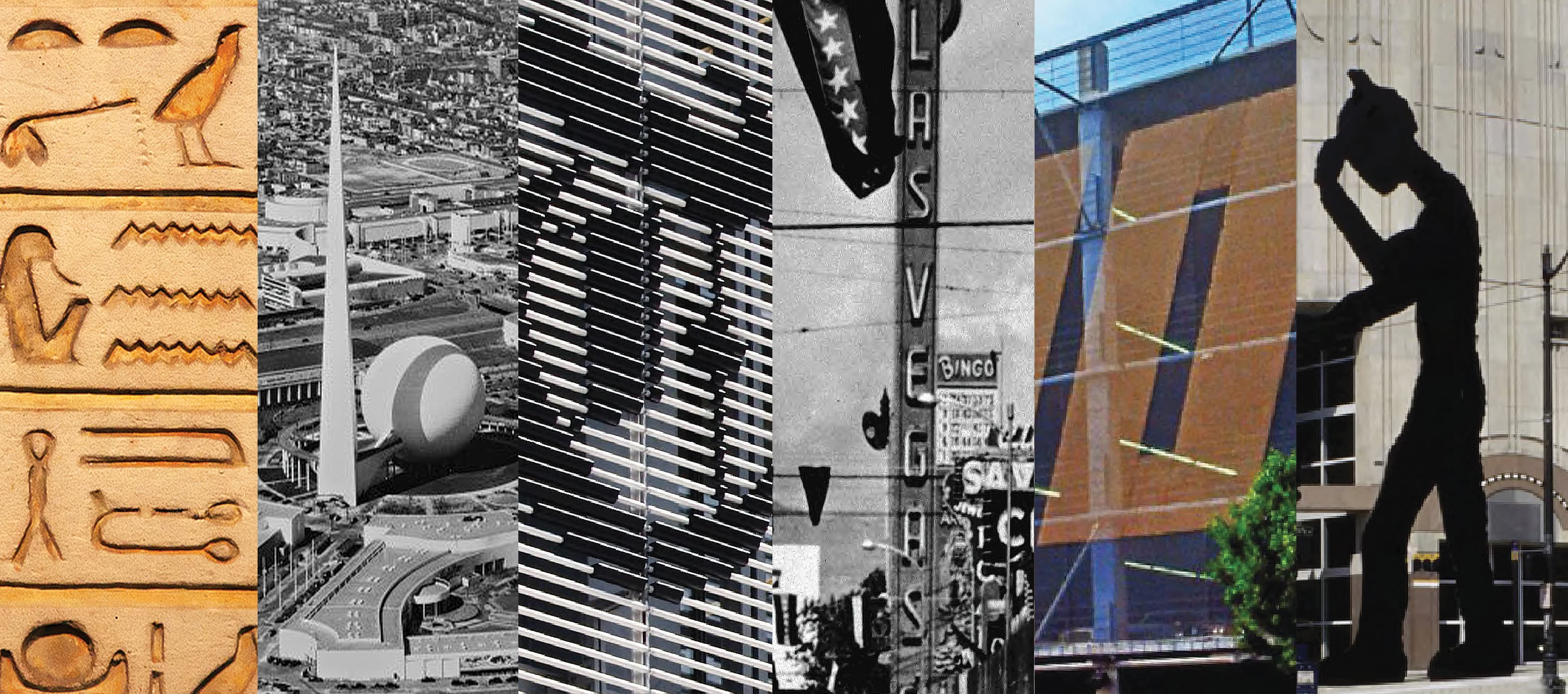 Architectural Graphic Design from Various Historical Moments.