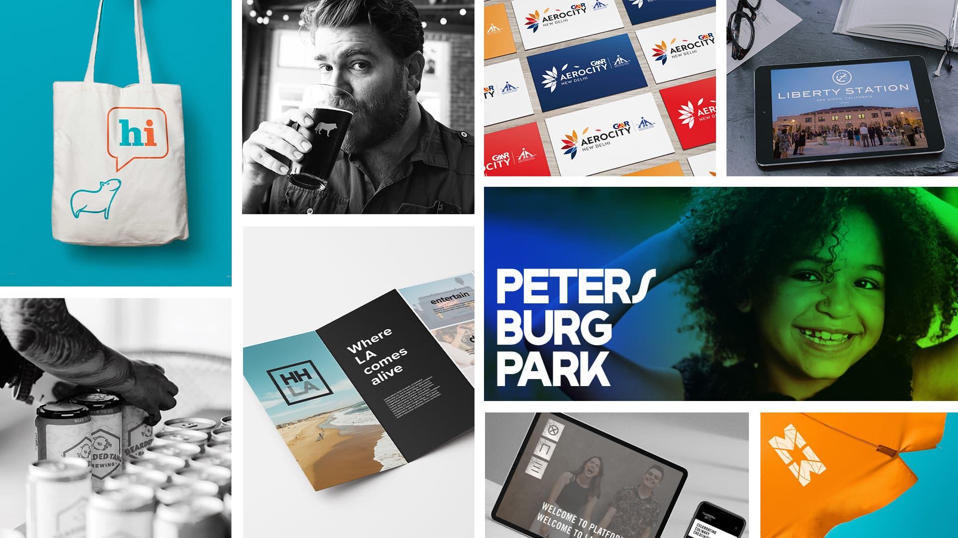 Branding and Logo Designs by RSM Design branding studio.