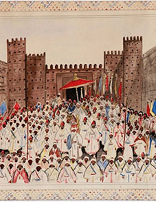 « Sortie du Roi » par Ben Ali Rbati.