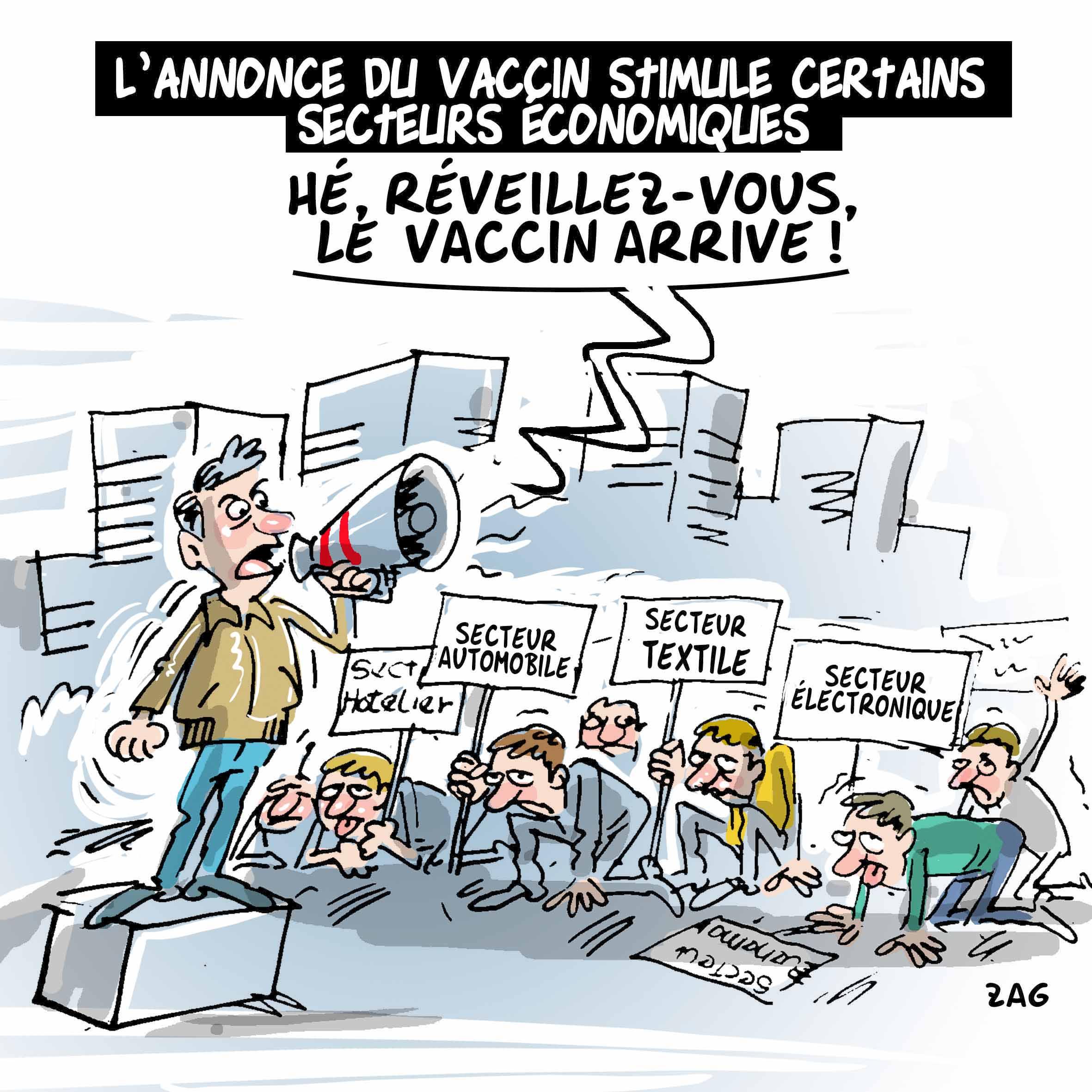L'annonce du vaccin stimule certains secteurs économiques