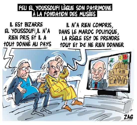 Feu El Youssoufi lègue son patrimoine à la fondation des musées