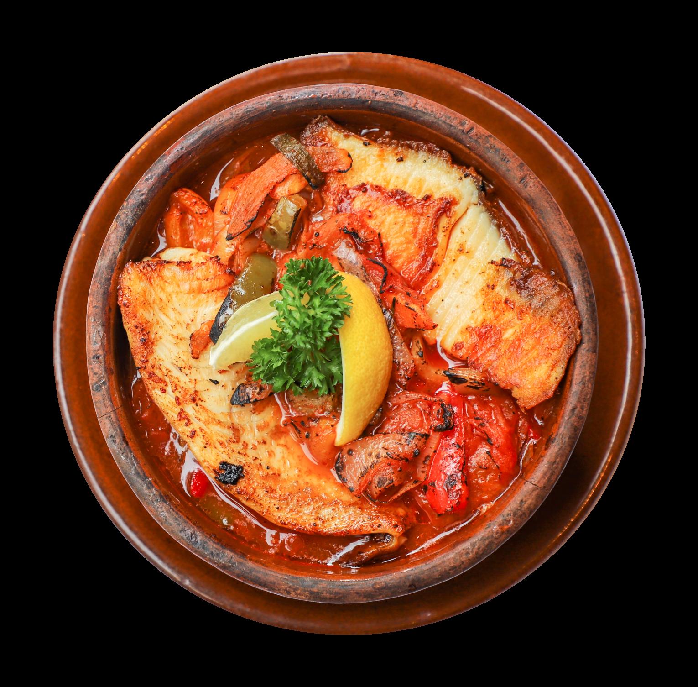 Okra Tagine with Fish