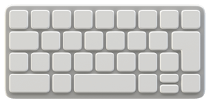 graphic of keyboard