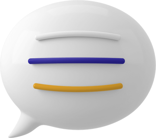 computer generated image of a speech bubble