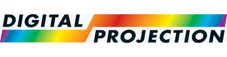 icon graphic of digital projection logo