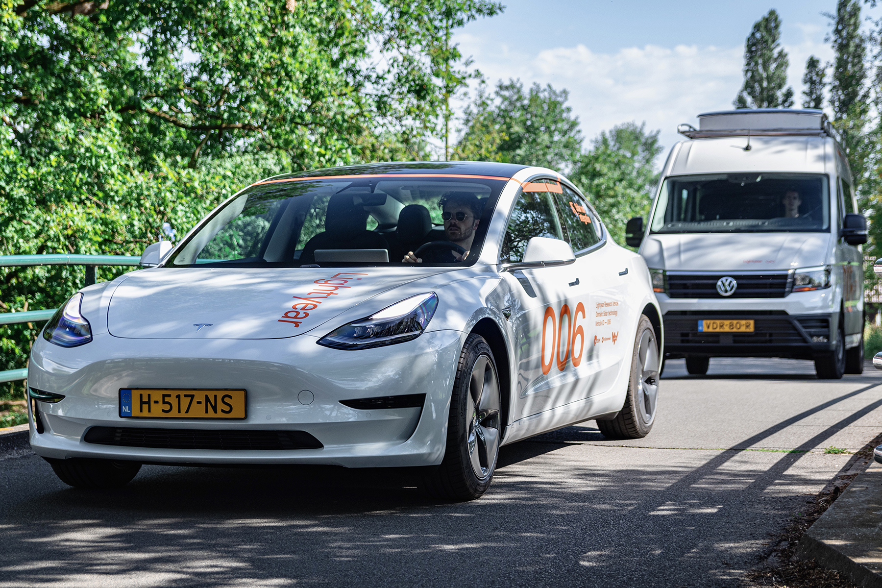 First Lightyear Research Vehicles hit the road