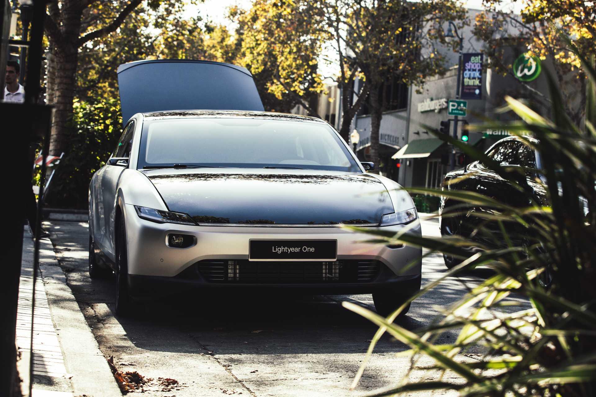 Lightyear One solar electric vehicle