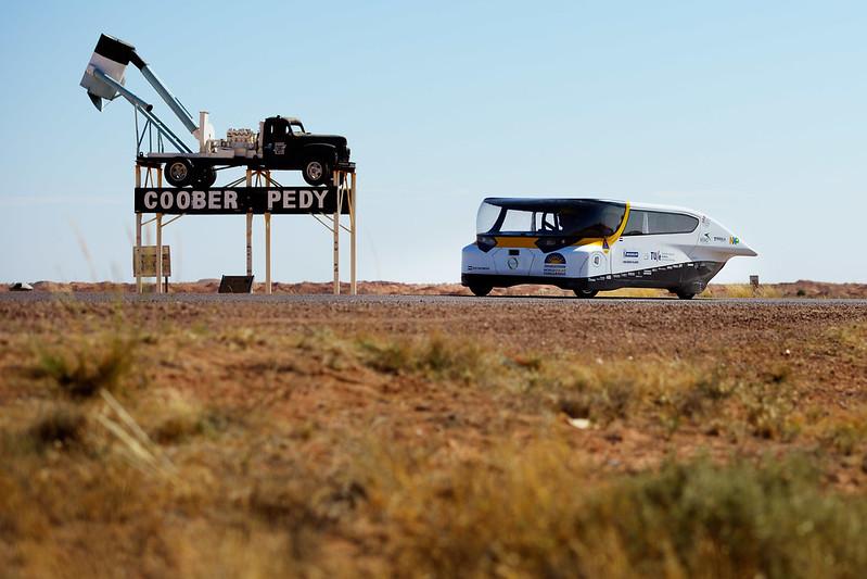 Stella wins 1st Bridgestone World Solar Challenge