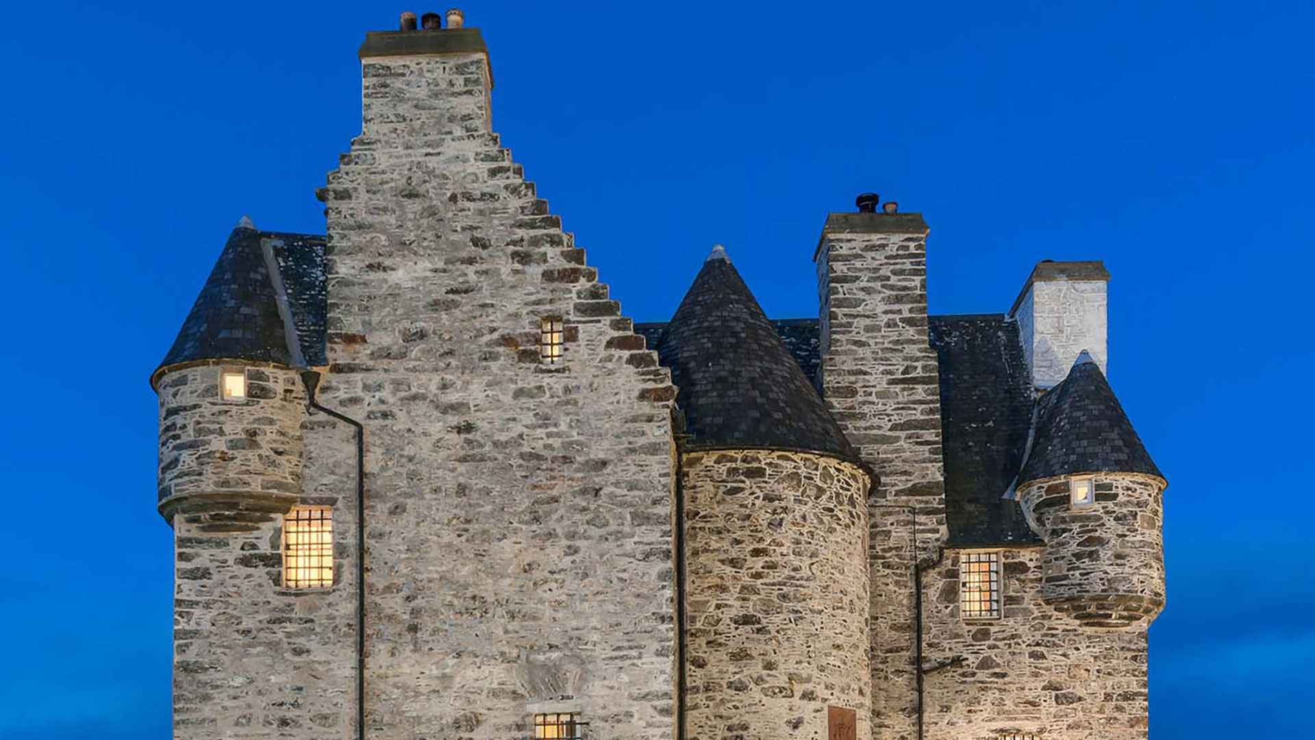 Lightyear One journeys at Barcaldine Castle, Oban, in Scotland