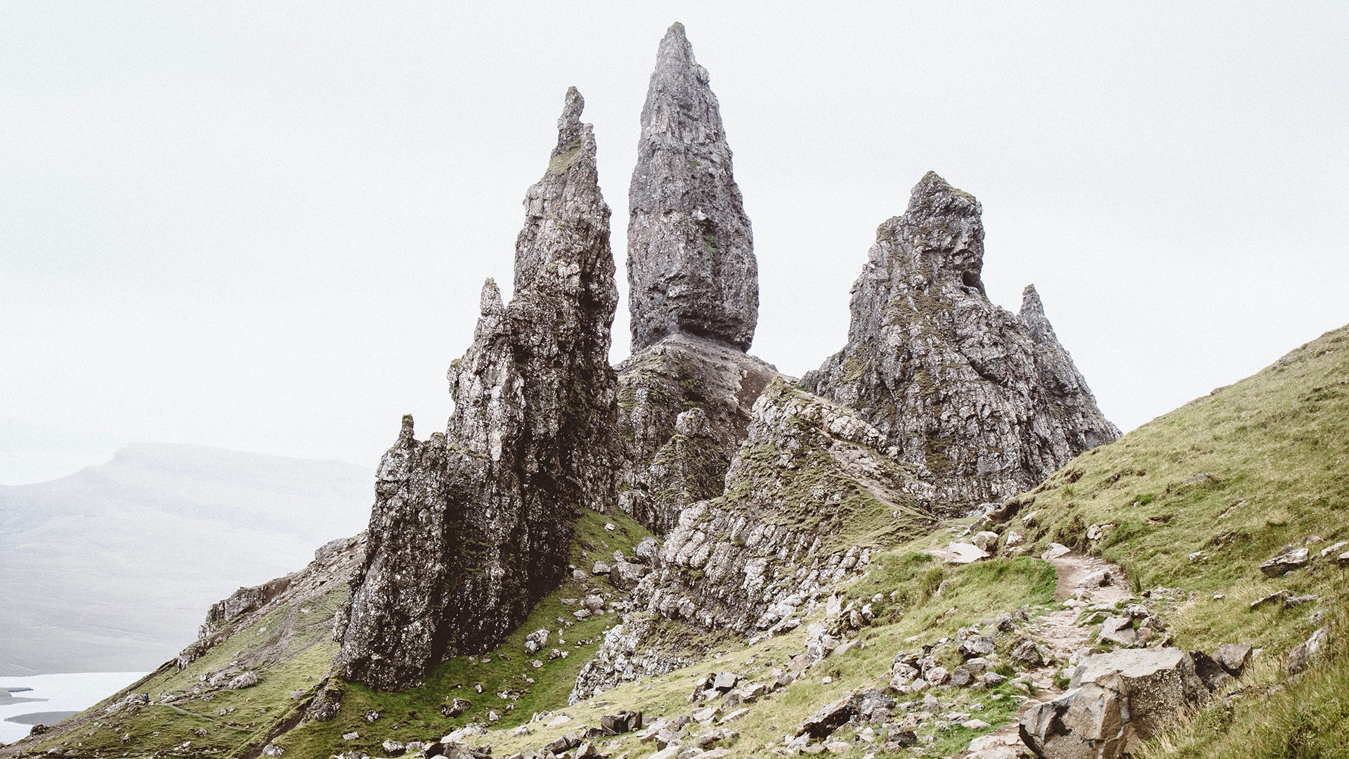 Lightyear One journeys at the Old Man of Storr, in Scotland