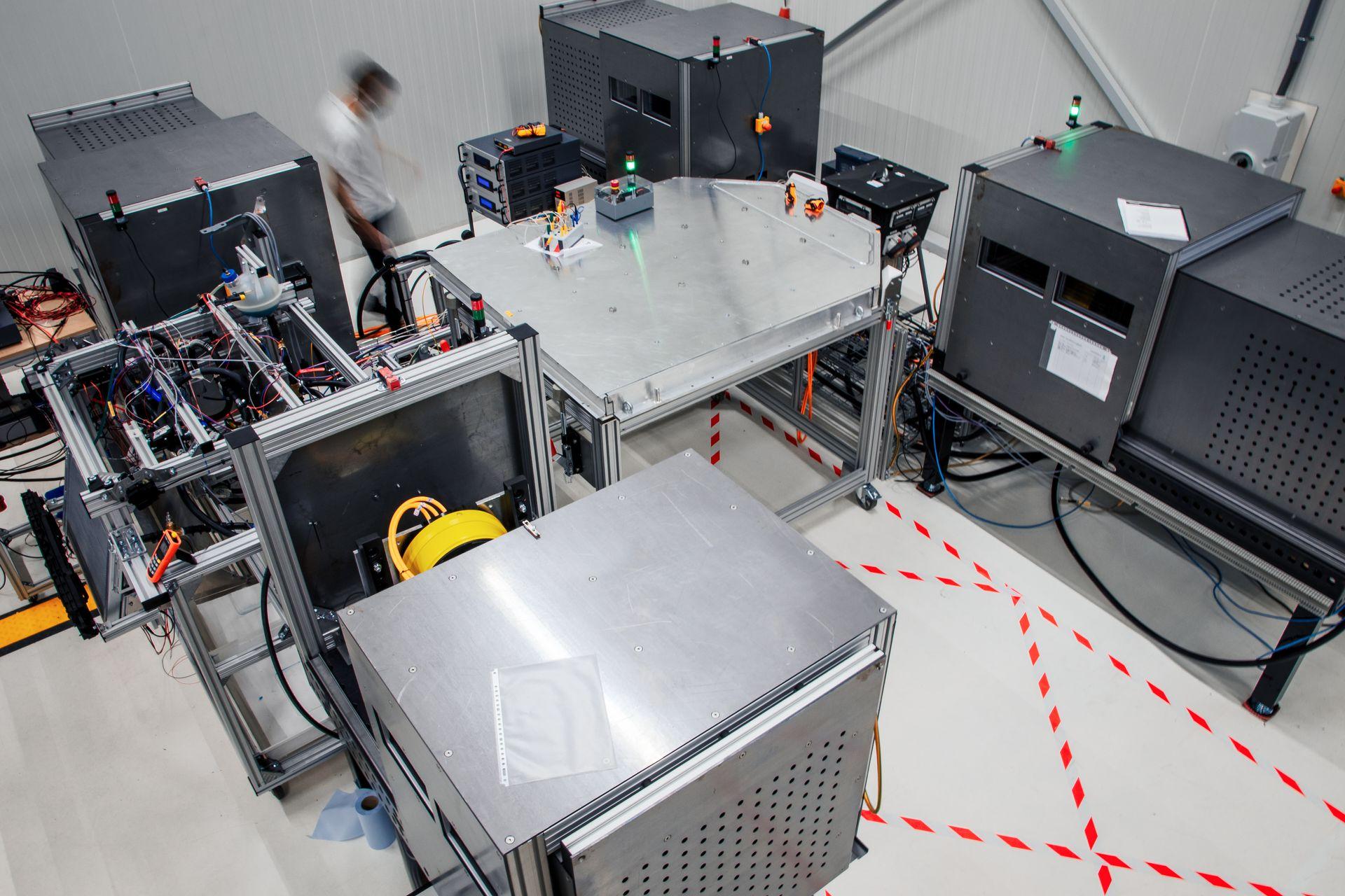 Lightyear One's Hardware Integration Test setup