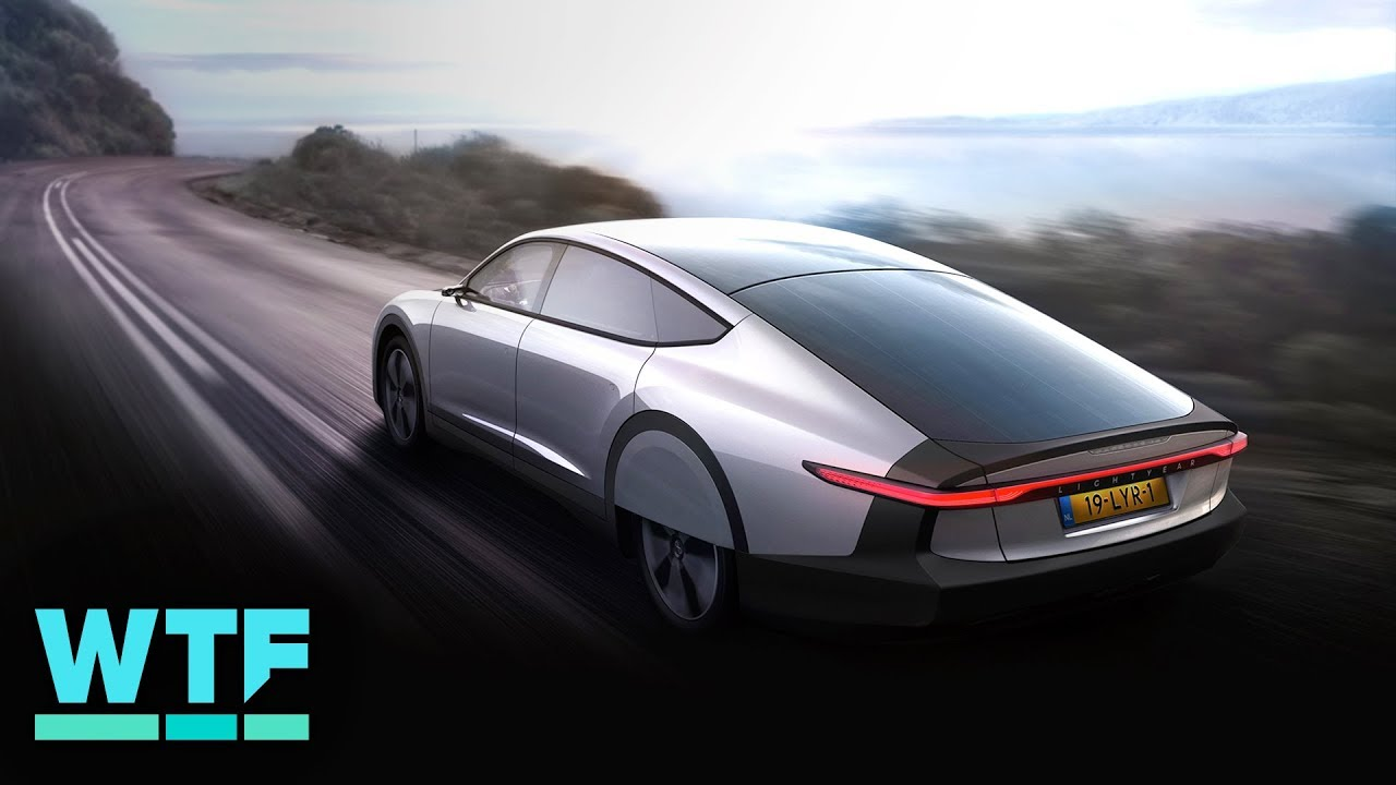 CNET takes a look at world's first long-range solar car Lightyear One