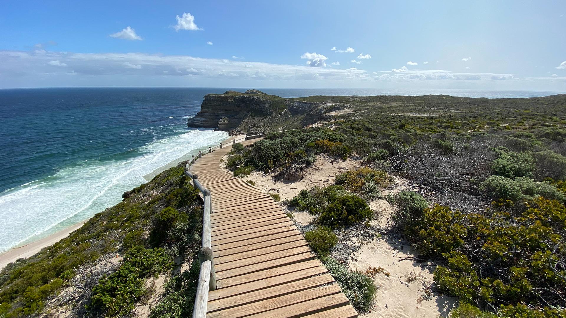 Lightyear One journeys at Kaap die Goeie Hoop, in South Africa