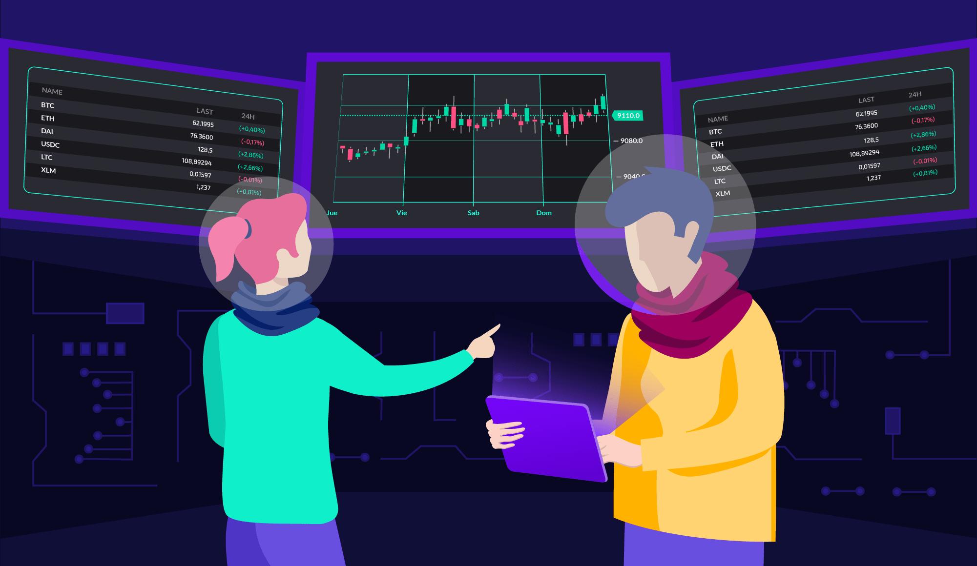 Exchanges de criptomoedas para trading e investimento