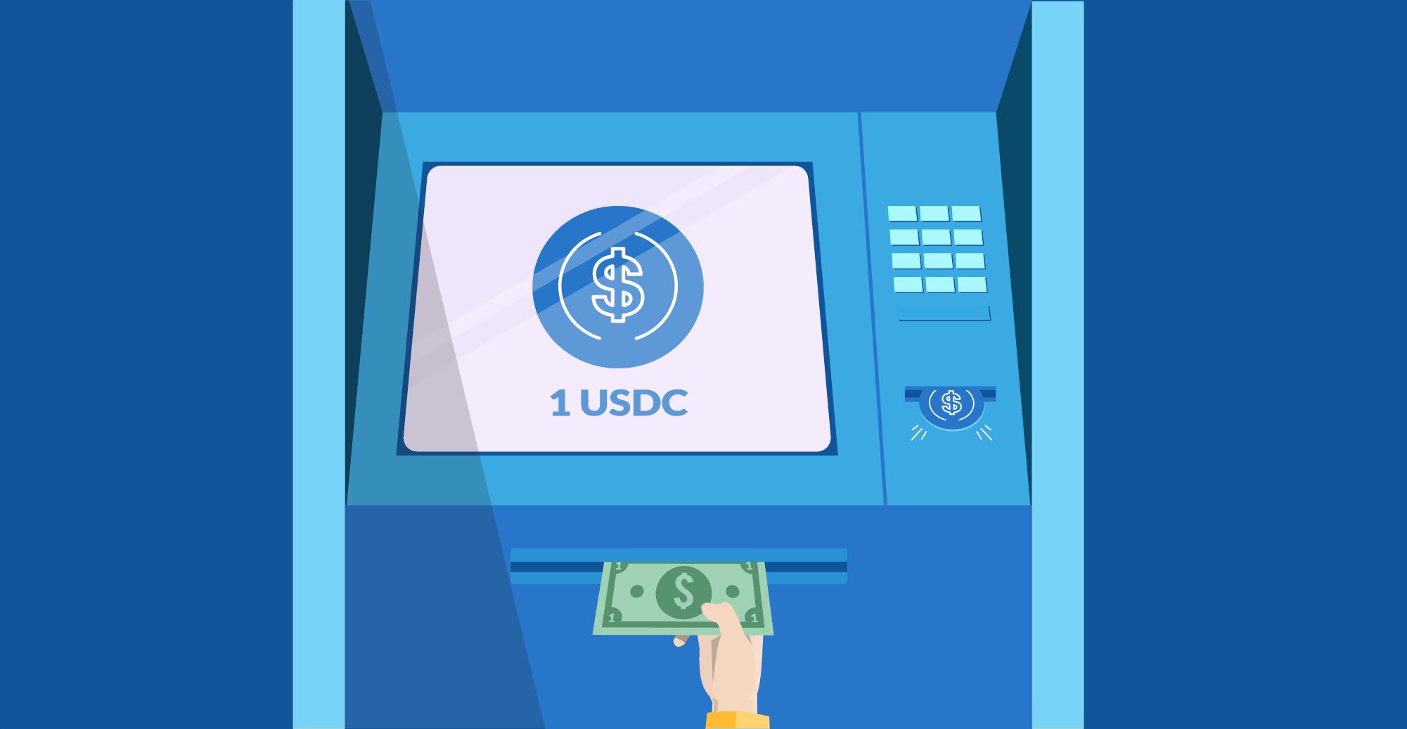 Trocar dólar por USD Coin