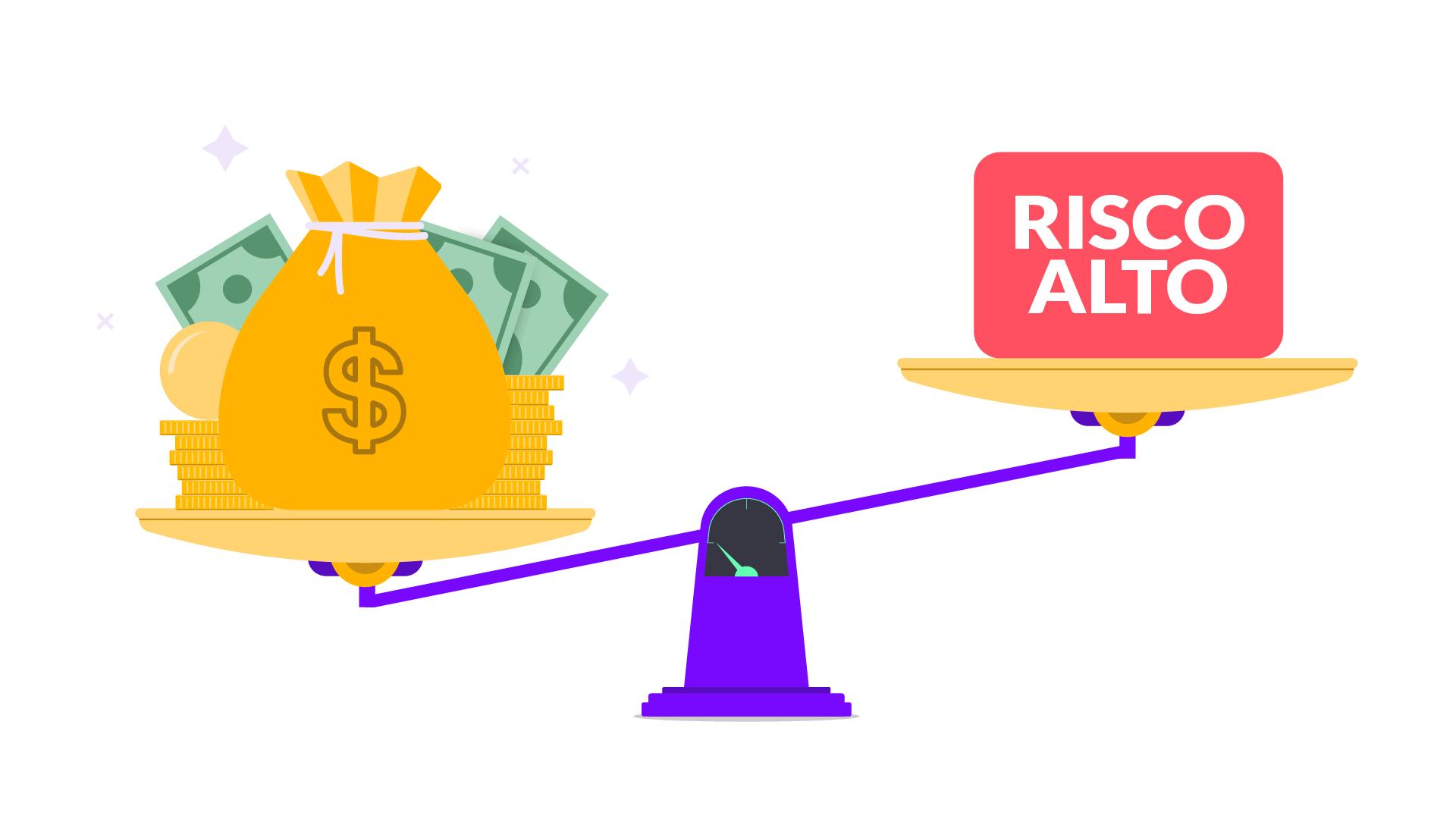 Como funciona o risco de investimento