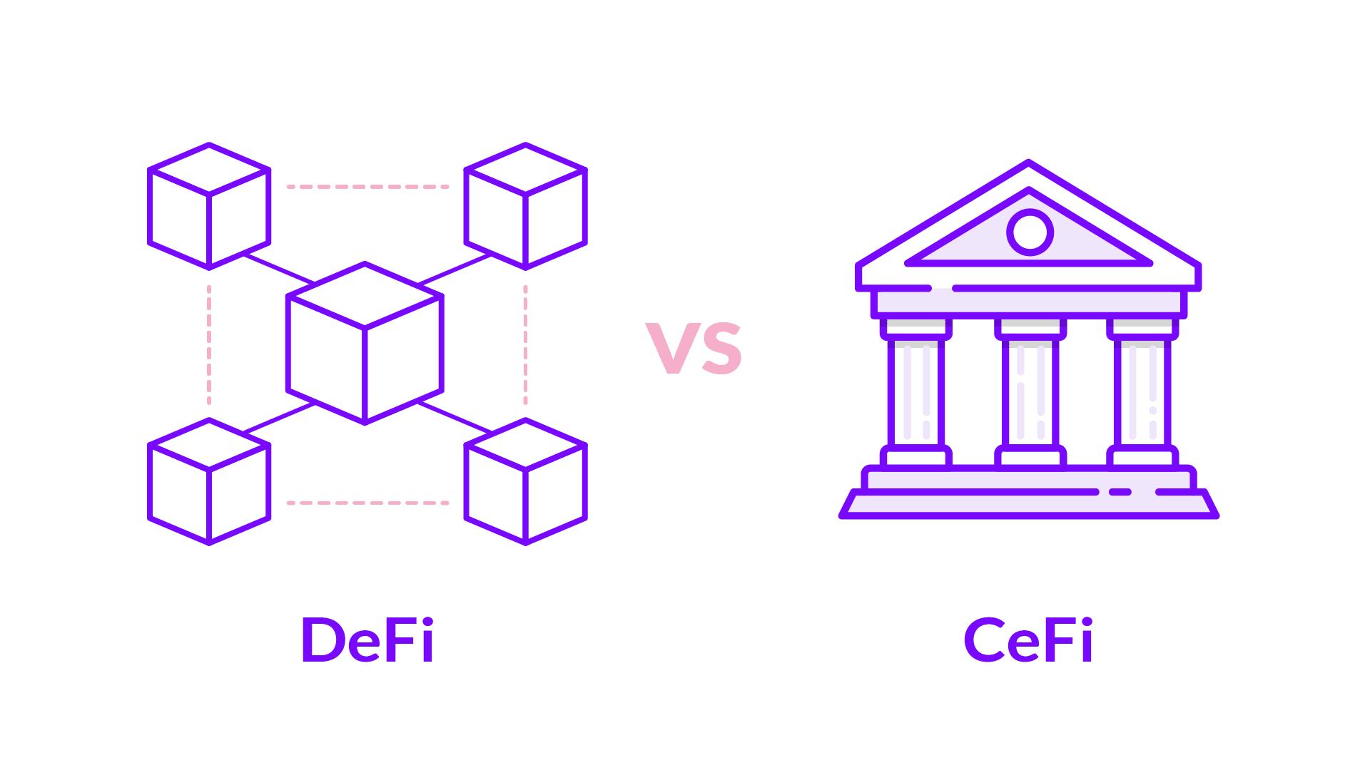 DeFi vs CeFi principais diferenças