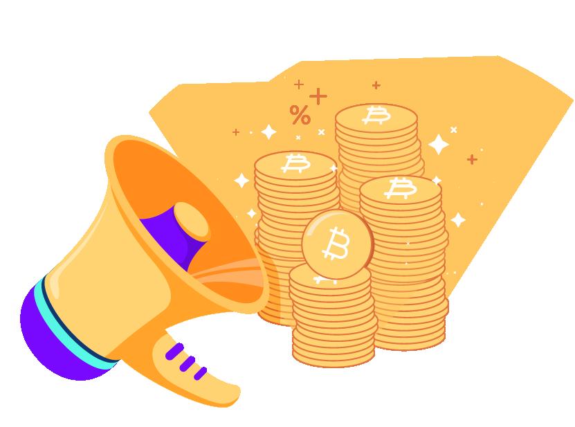 Convide seus amigos e ganhe Bitcoins