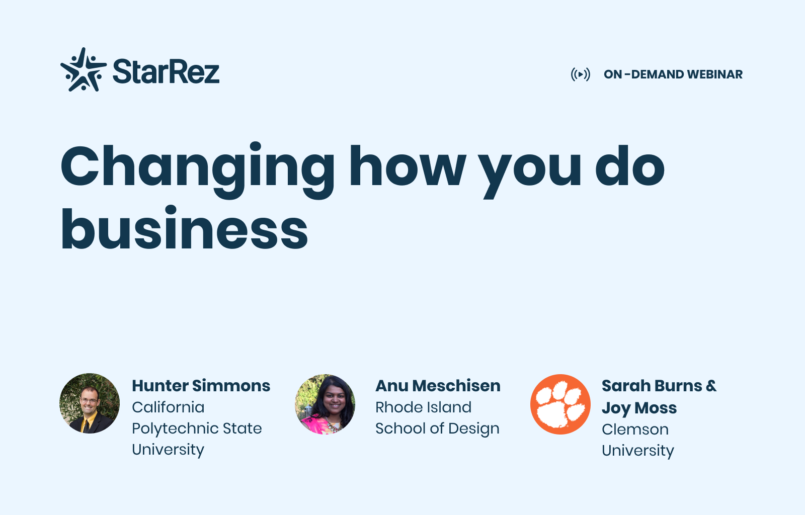 Changing How You Do Business